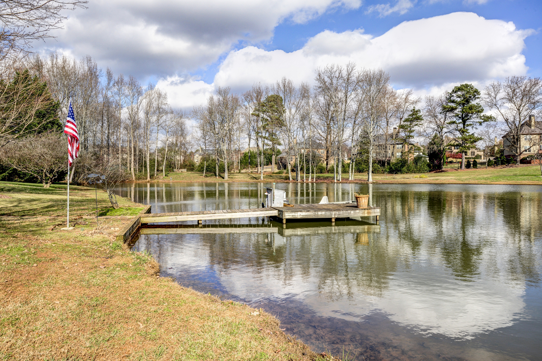 Additional photo for property listing at Beautiful Acreage On Lake 882 Auburn Road Dacula, Georgia 30019 États-Unis