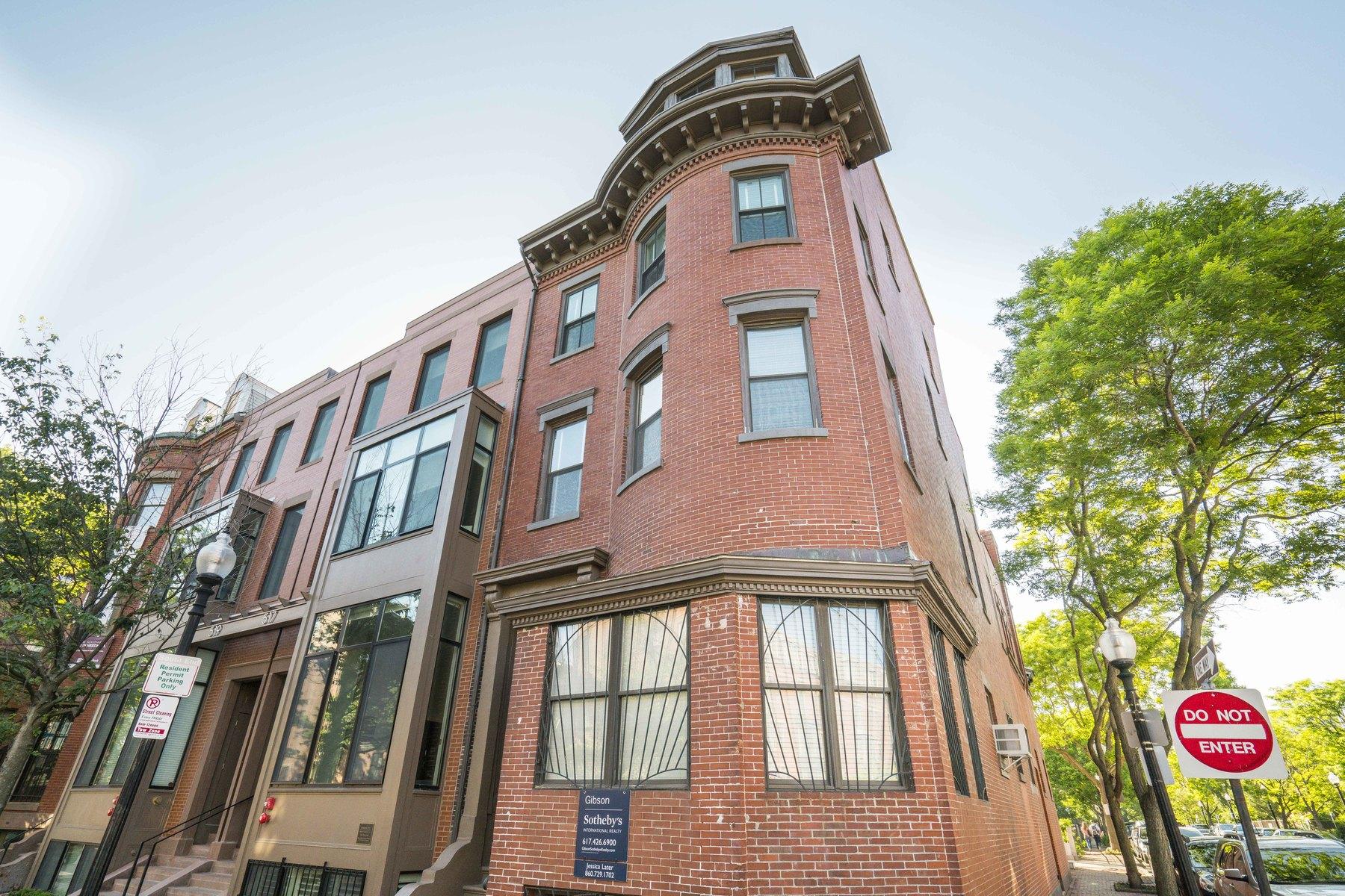 Eigentumswohnung für Verkauf beim A mere second floor walk up, this 1045 square foot two bedroom PLUS STUDY condo 515 Shawmut Avenue Unit 2 South End, Boston, Massachusetts, 02118 Vereinigte Staaten