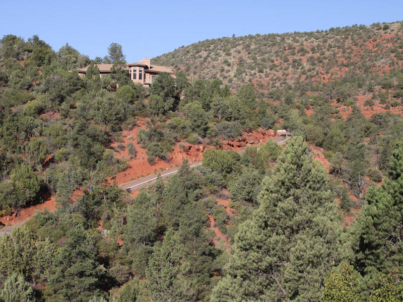 Single Family Home for Sale at Four Private Acres 601 Creek View Circle Spur Sedona, Arizona 86336 United States
