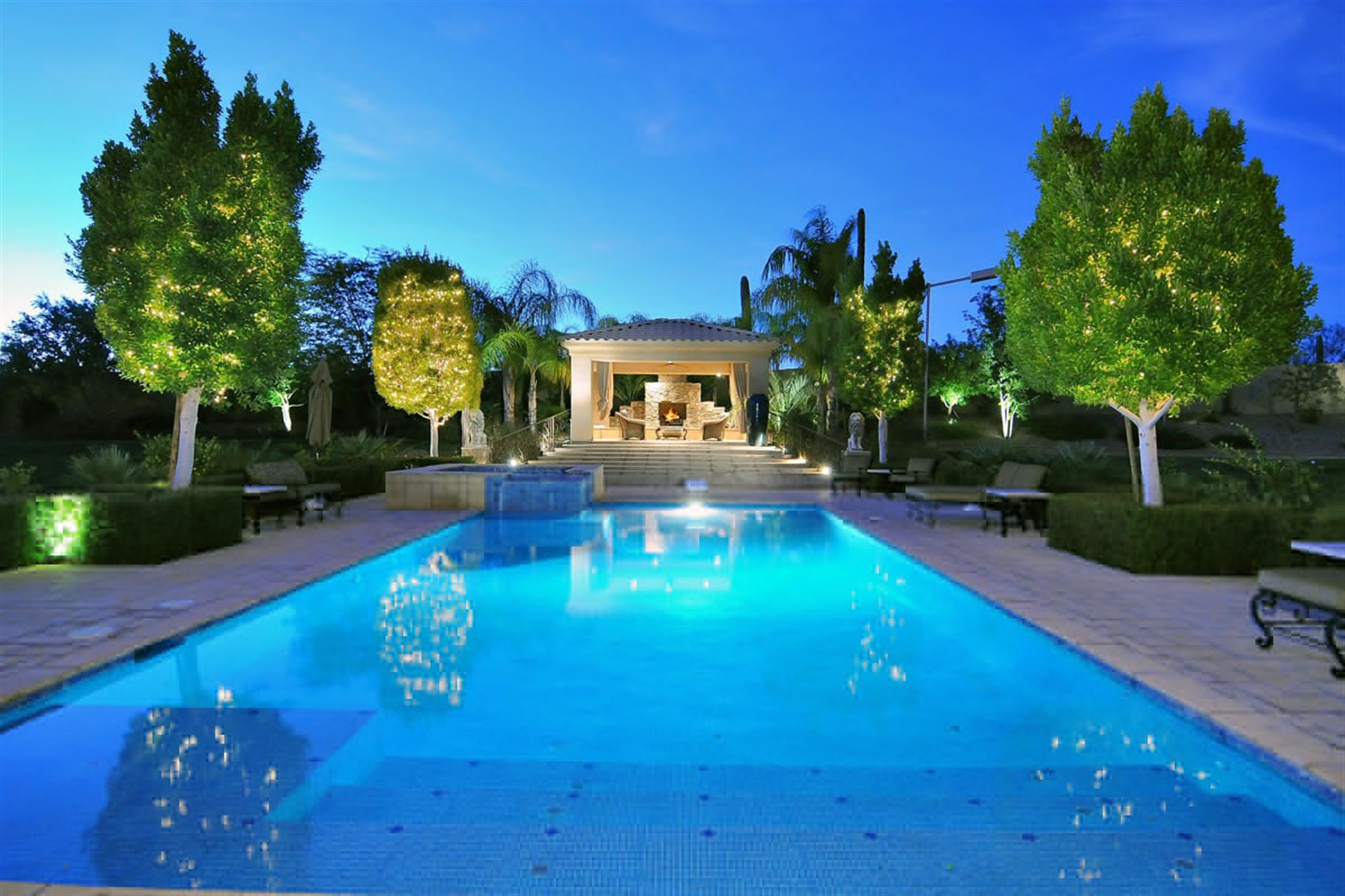 Property For Sale at Private Gated Family Compound on 7+ Acres in the Heart of North Scottsdale