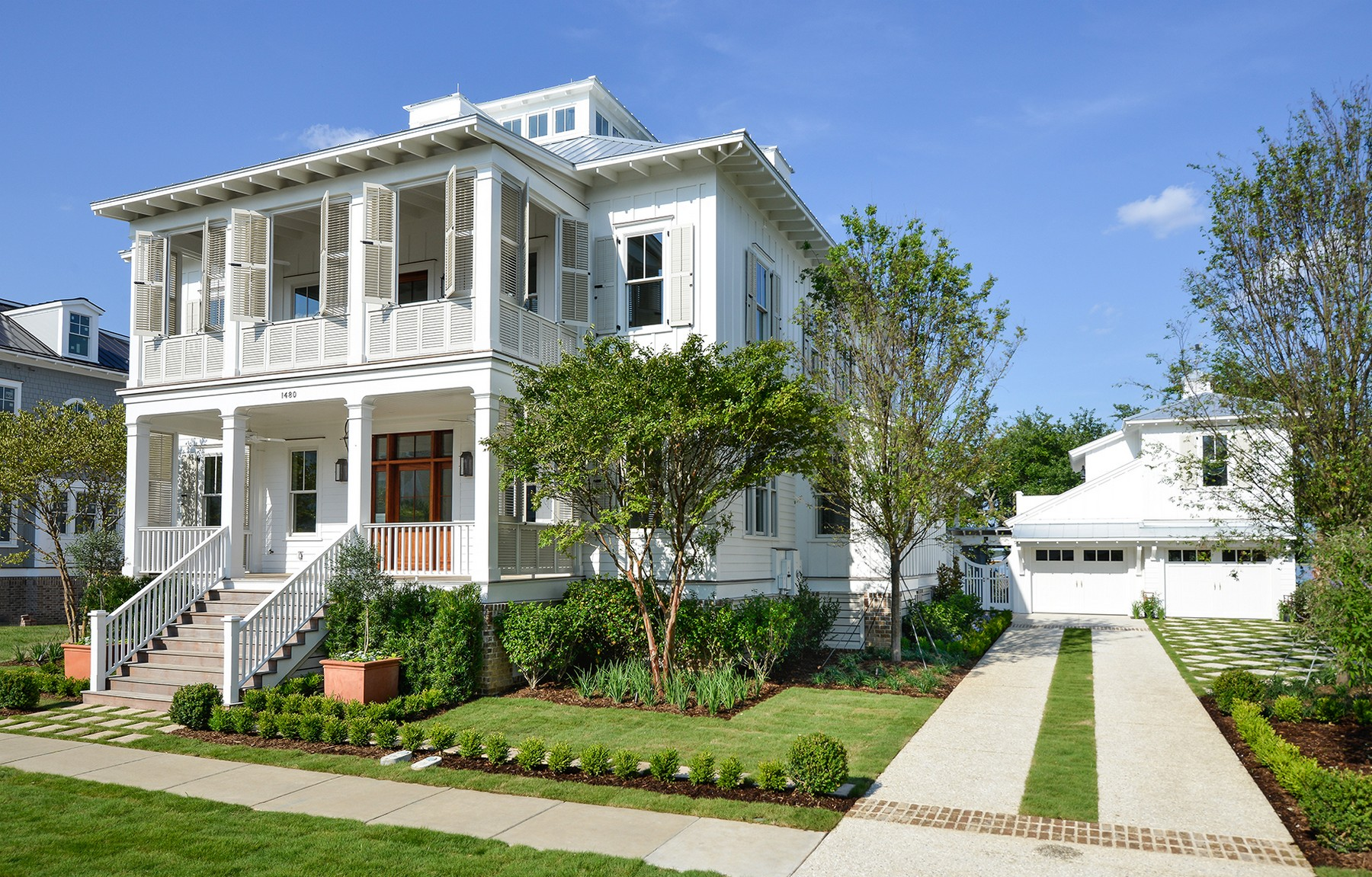 Casa para uma família para Venda às Water Front Estate - New Construction 1480 Wando View Street Charleston, Carolina Do Sul 29492 Estados Unidos