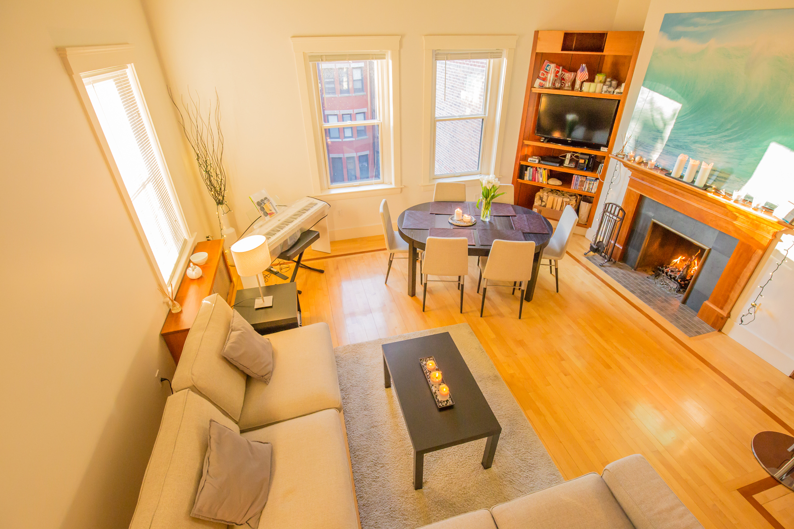 共管物業 為 出售 在 Pristine Penthouse Duplex 178 Commonwealth Ave. Unit PH 8 Back Bay, Boston, 麻塞諸塞州, 02116 美國