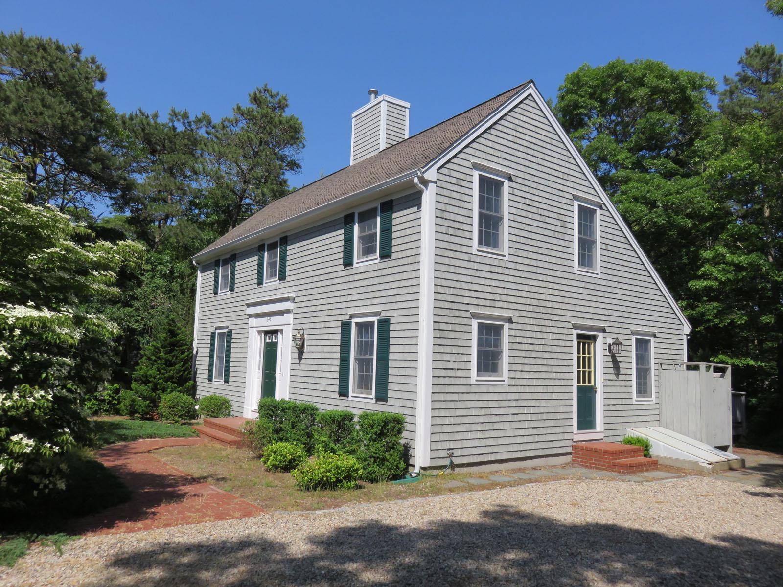 Single Family Home for Sale at CLOSE TO SWIM POND 245 Fells Pond Road New Seabury, Massachusetts, 02649 United States