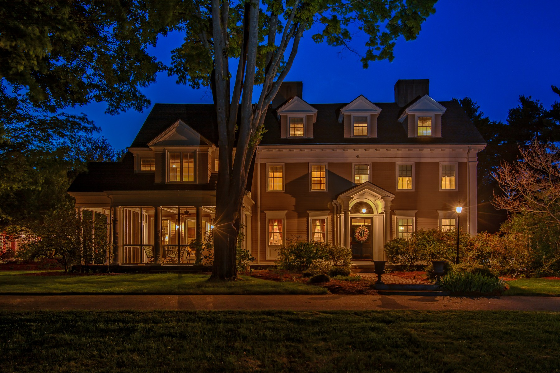 sales property at Quintessential Federal Style Colonial & Estate