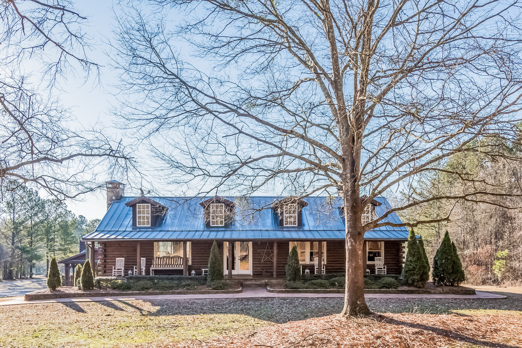 단독 가정 주택 용 매매 에 Stunning Equestrian Property With Income Potential 12000 Hutcheson Ferry Road Chattahoochee Hills, 조지아, 30268 미국