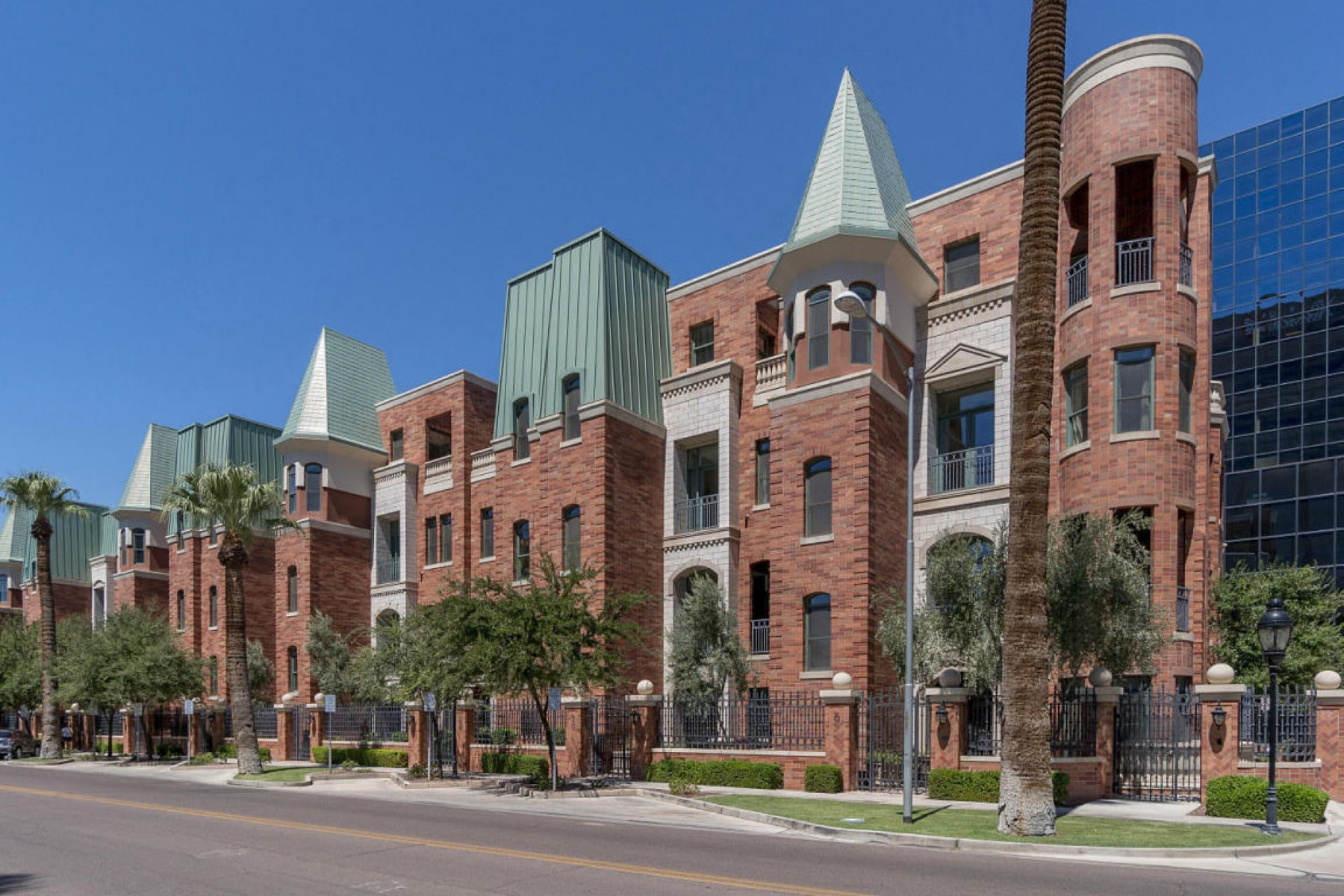 rentals property at Chateau is the Valley's most unique destination for Downtown luxury living
