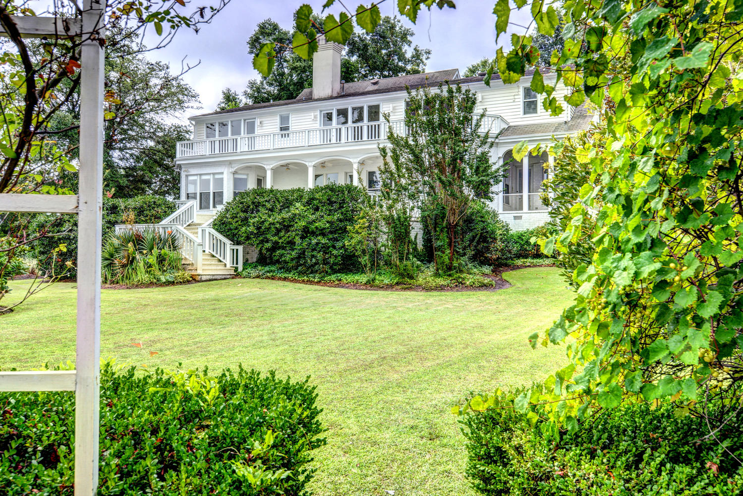 Single Family Home for Sale at Waterfront Southern Colonial 2345 Ocean Point Wilmington, North Carolina, 28405 United States