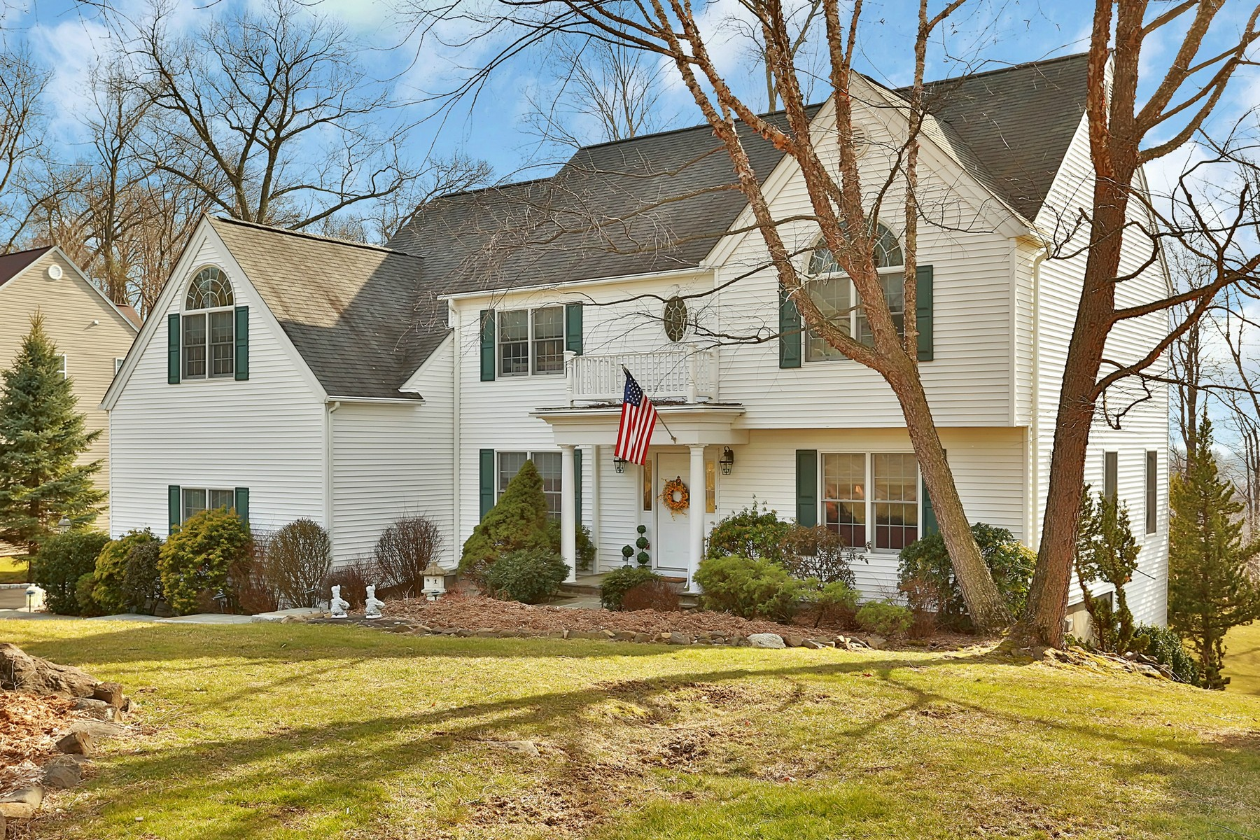 sales property at Classic Colonial with Modern Flair
