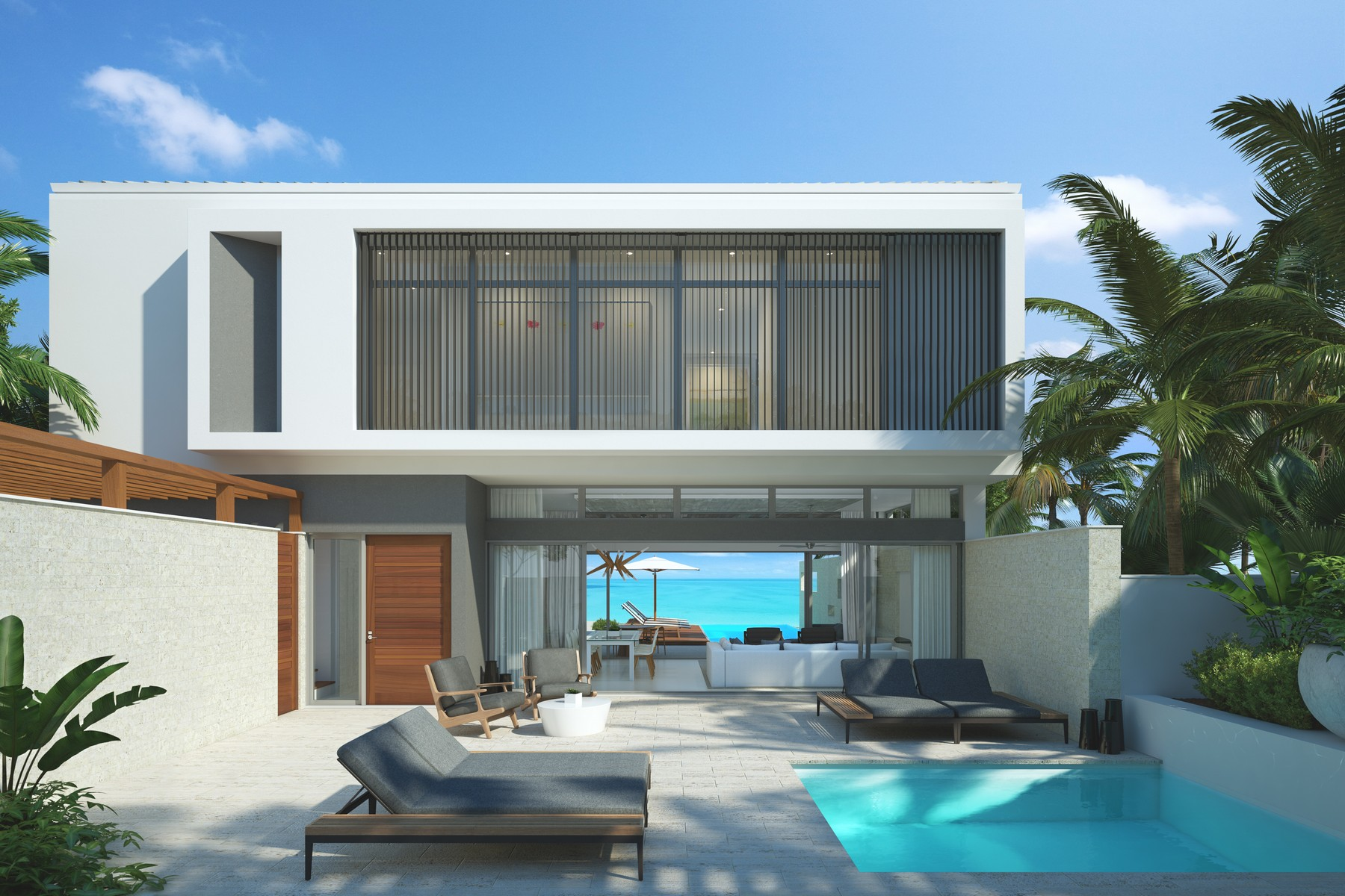 Additional photo for property listing at Gansevoort Villa - 5 Bedroom Design Waterfront Turtle Tail, Providenciales TCI Islas Turcas Y Caicos