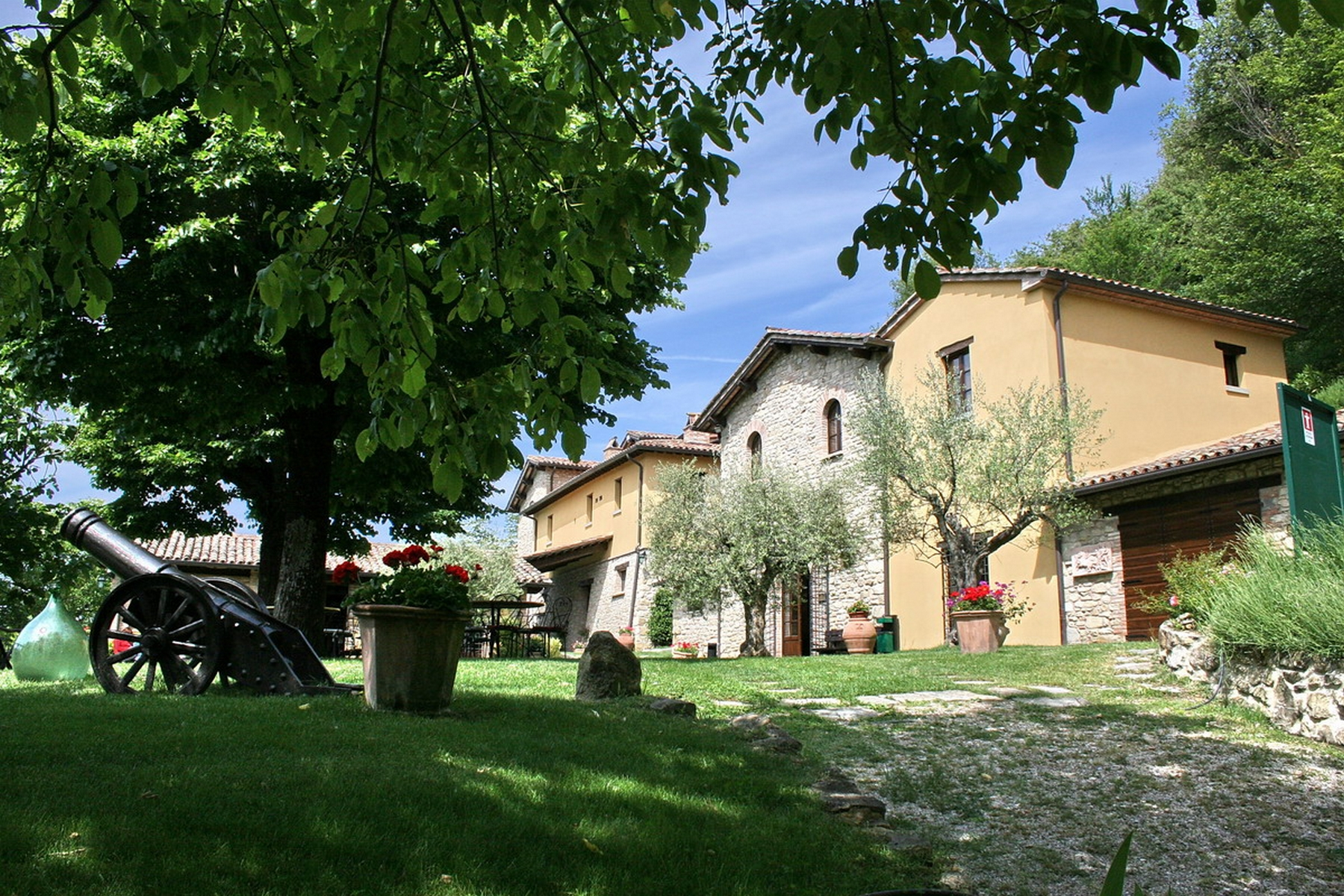 Other Residential for Sale at Charming Golf Club with equestrian center and Spa Vocabolo Caldese Citta Di Castello, 61026 Italy