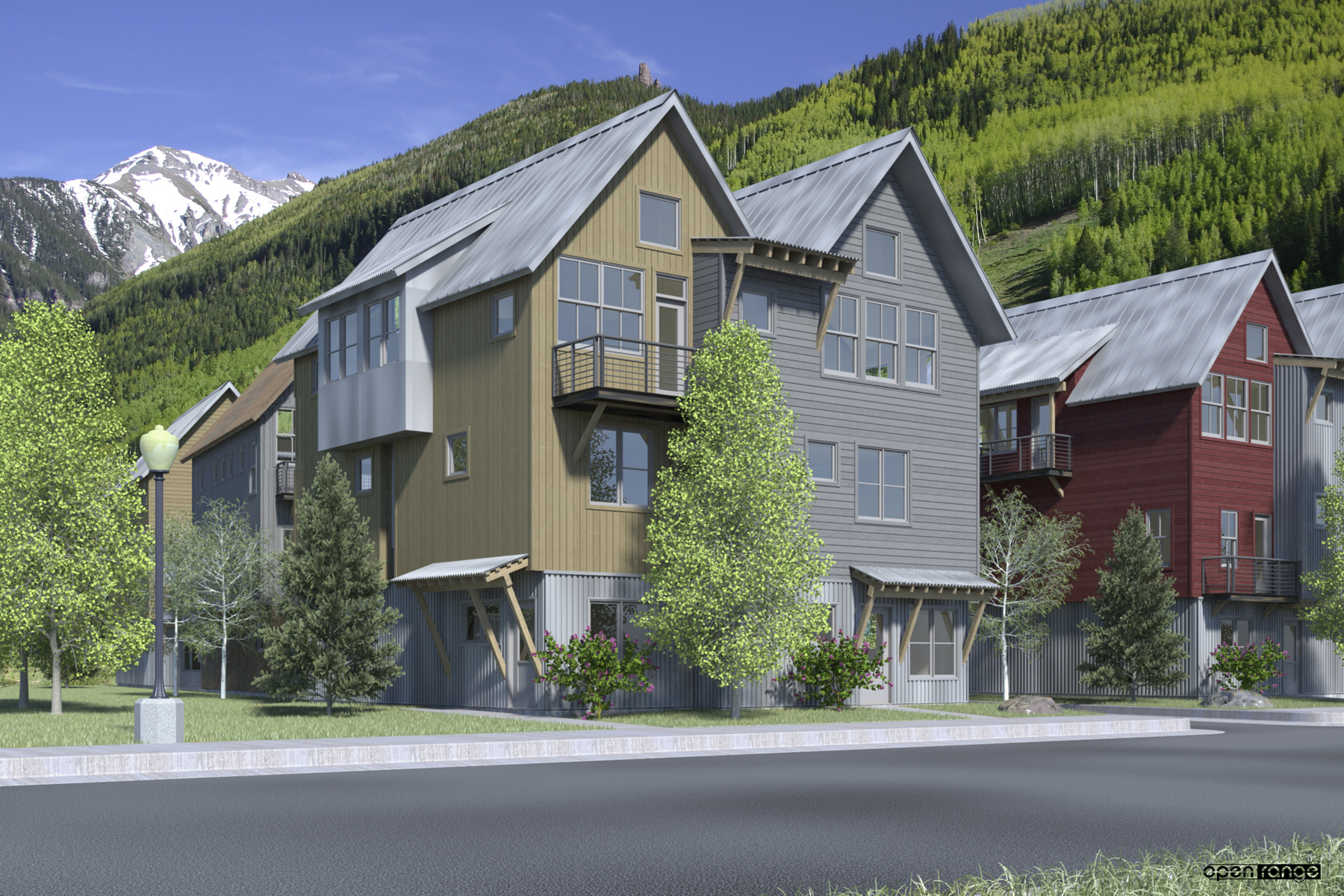 Townhouse for Sale at 240 South Mahoney Drive, Unit 2 Telluride, Colorado, 81435 United States