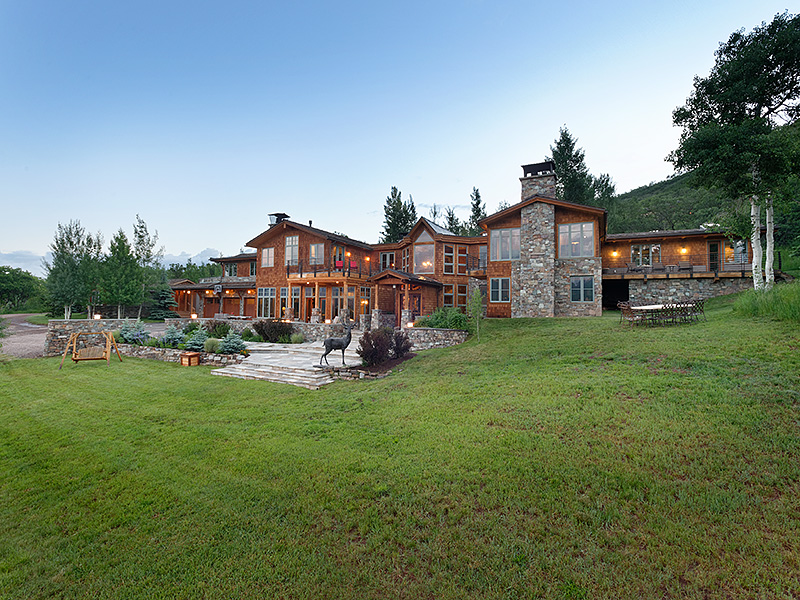 Single Family Home for Sale at Ranch in Starwood 44 Johnson Drive Aspen, Colorado 81611 United States