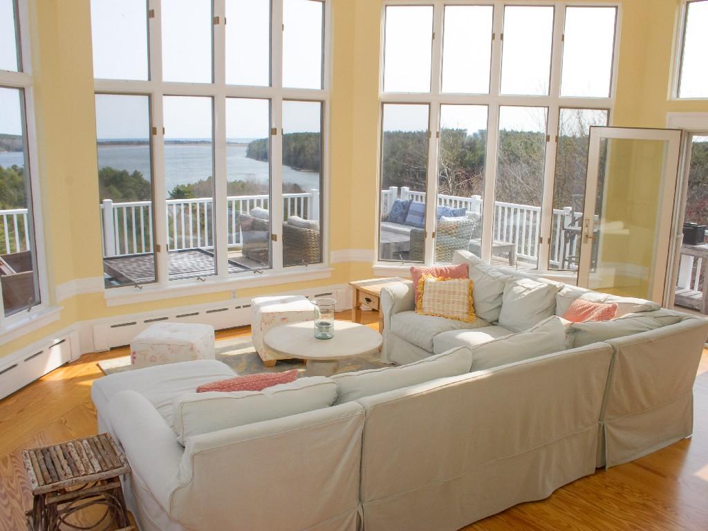 Casa Unifamiliar por un Venta en Atkins Bay 3 Atkins Bay Road Phippsburg, Maine, 04562 Estados Unidos