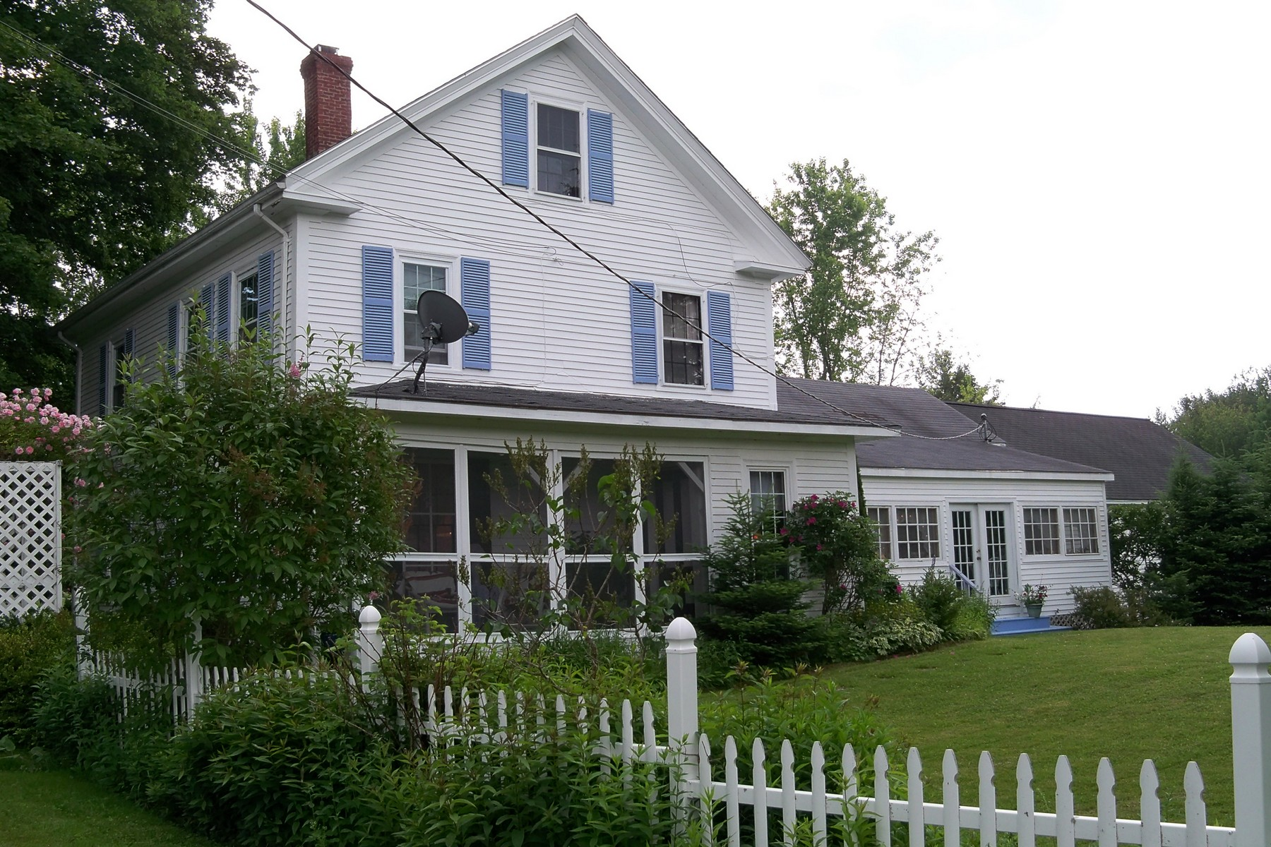 Single Family Home for Sale at 14 Angel's Farm 91 Park Street Cherryfield, Maine 04622 United States