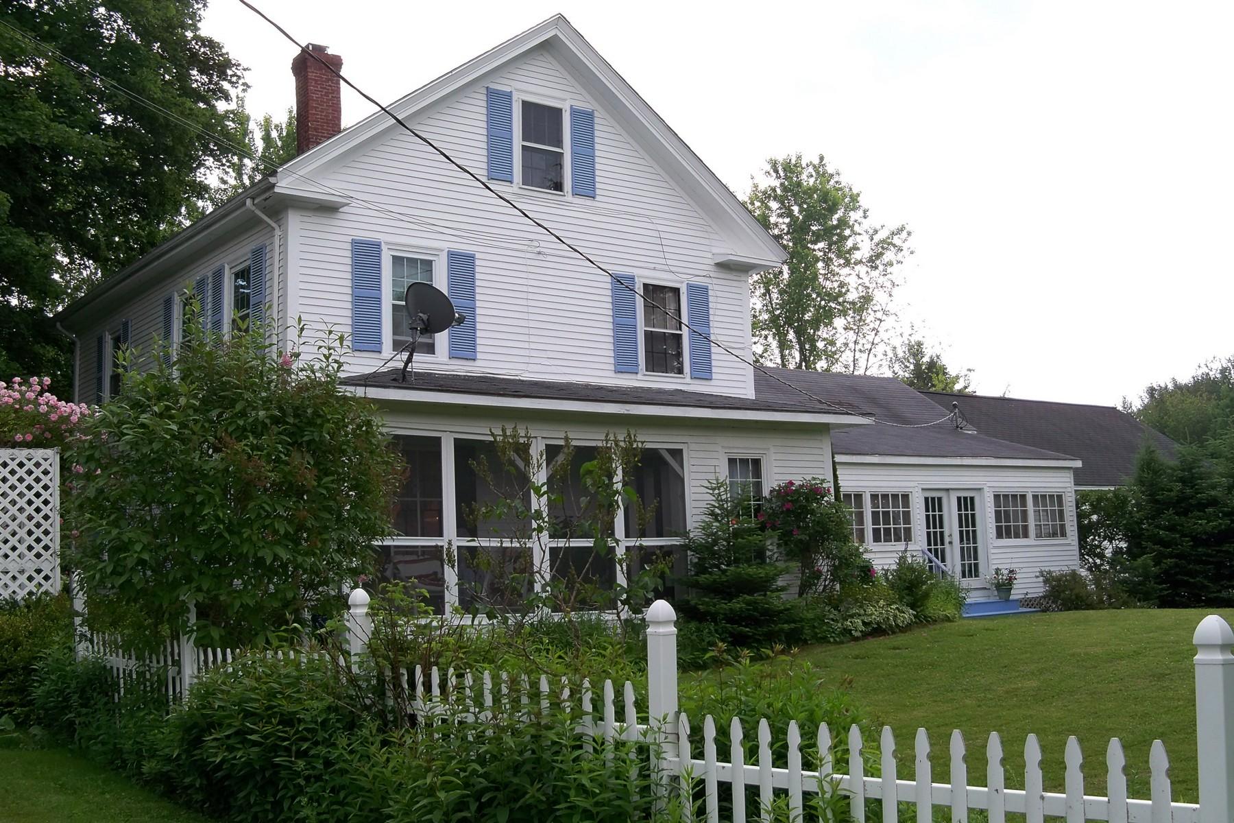 Villa per Vendita alle ore 14 Angel's Farm 91 Park Street Cherryfield, Maine 04622 Stati Uniti