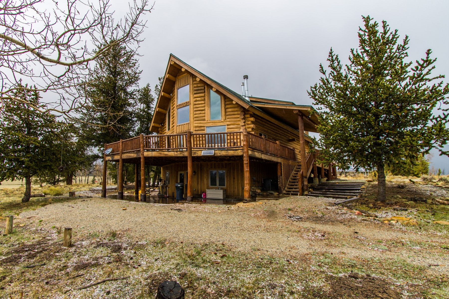 Property For Sale at Updated Mountain Cabin on 35 Acres