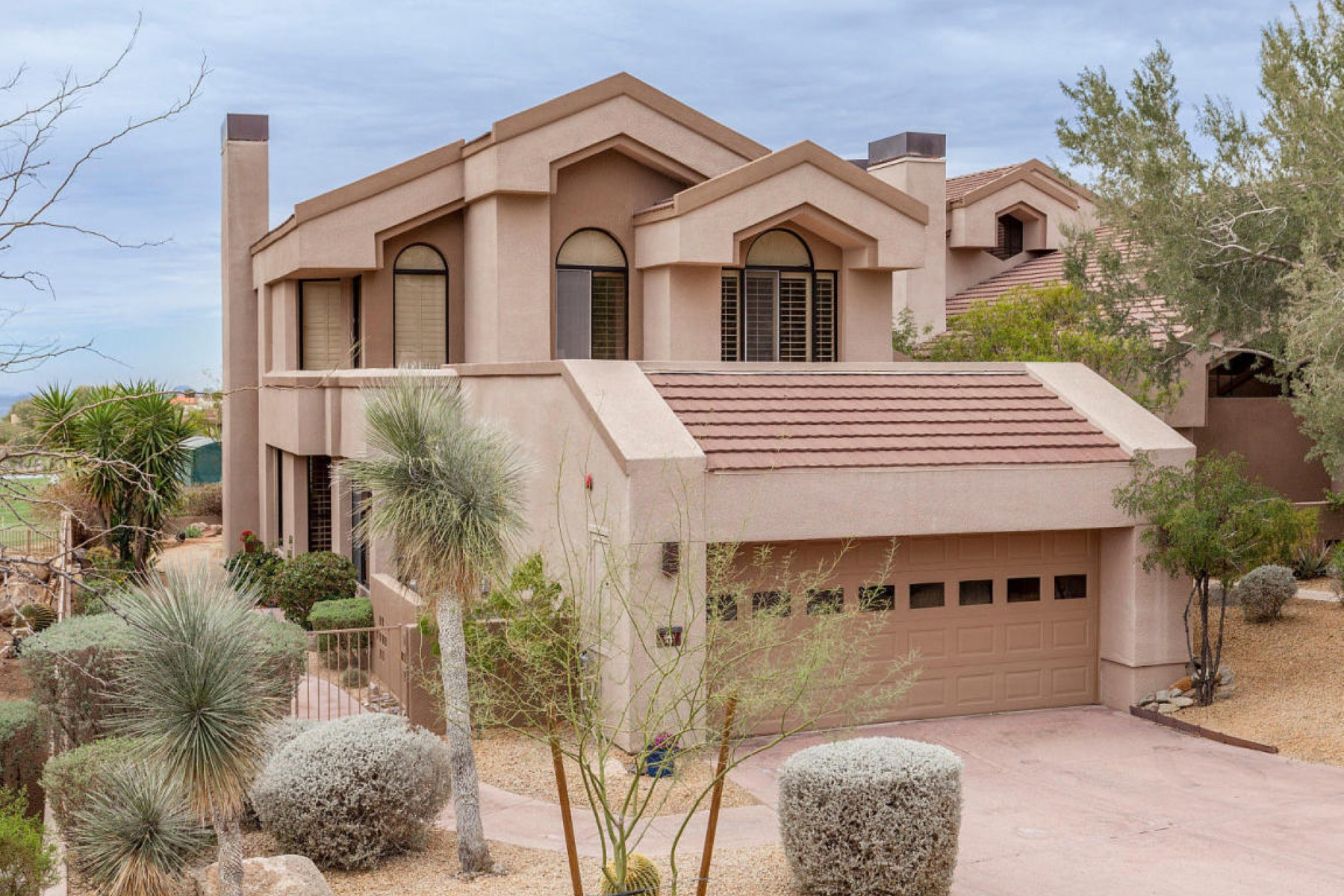 Single Family Home for Sale at Million-dollar views in a renovated and low-maintenance home 25150 N Windy Walk Dr #49 Scottsdale, Arizona, 85255 United States