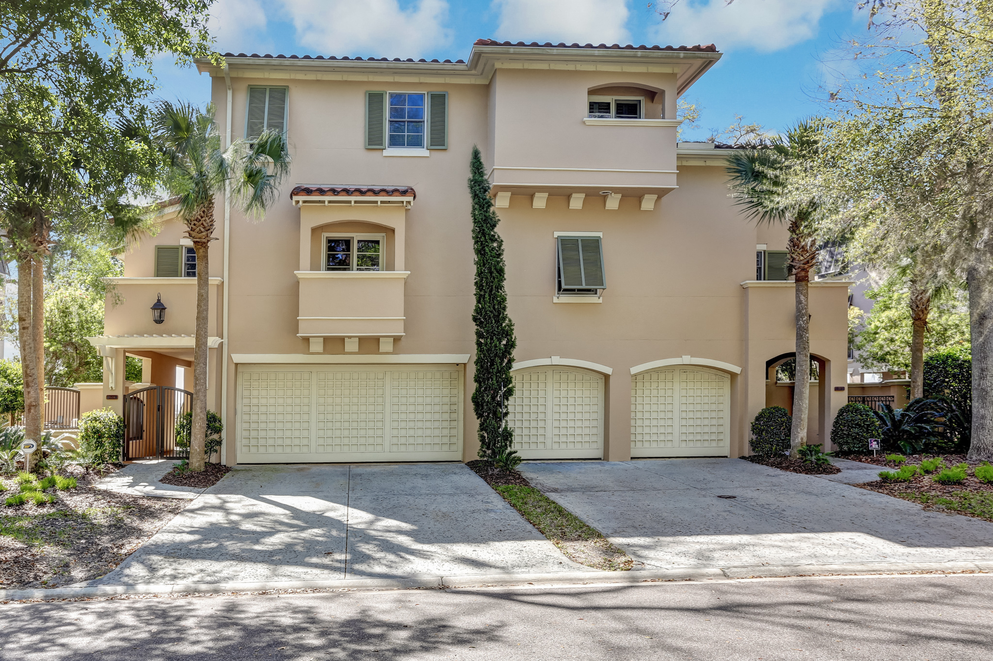 Maison unifamiliale pour l Vente à Marsh & River View Town Home 95180 Spring Tide Lane Fernandina Beach, Florida, 32034 États-Unis