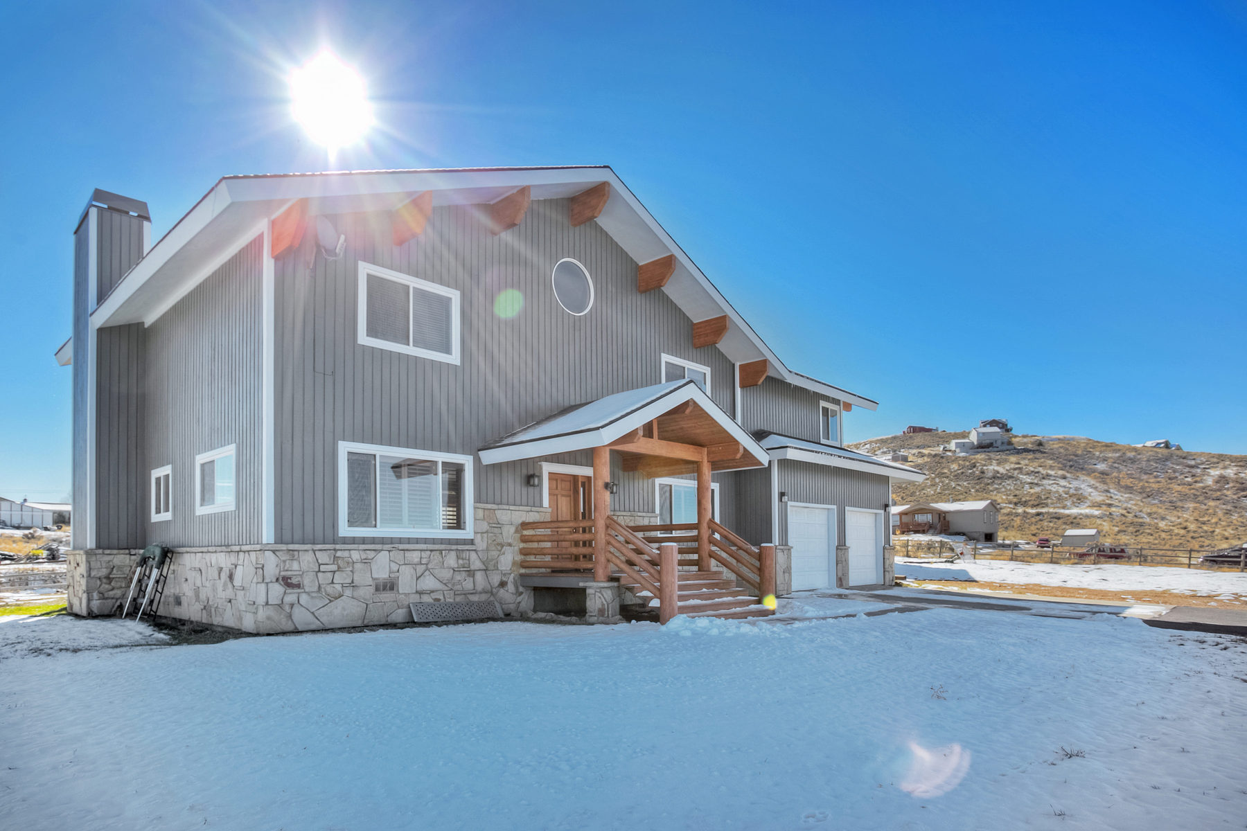 独户住宅 为 销售 在 Great Horse Property with a Barn and Stalls 6517 Highland Dr Park City, 犹他州 84098 美国