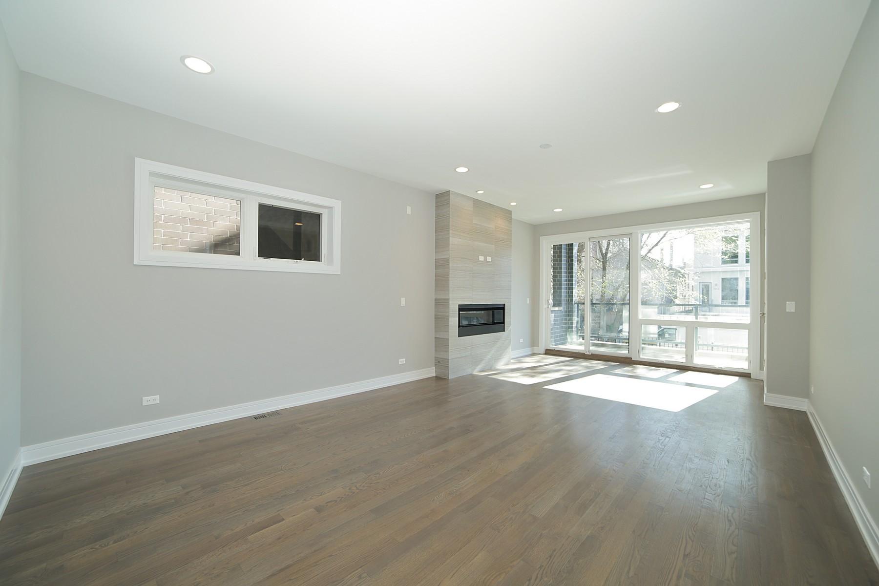 Duplex por un Venta en New Construction With Great Curb Appeal 1110 N Marshfield Avenue Unit 1 West Town, Chicago, Illinois 60622 Estados Unidos