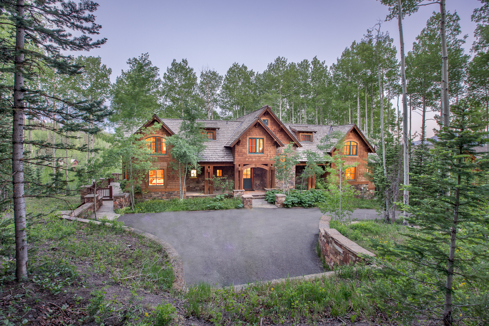 Single Family Home for Sale at 416 Benchmark Drive 416 Benchmark Drive Mountain Village Mountain Village, Telluride, Colorado 81435 United States