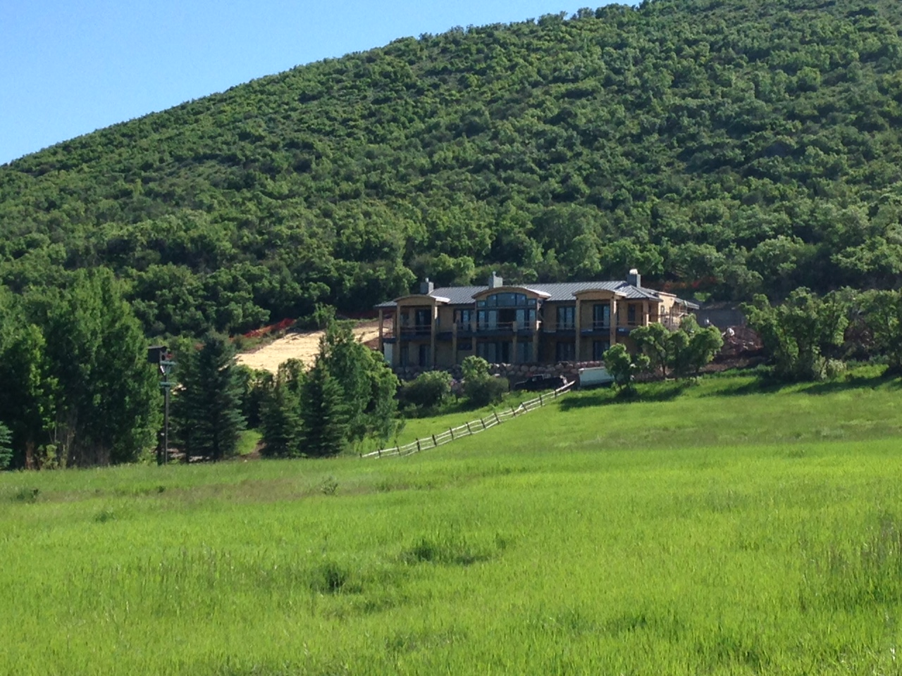 Maison unifamiliale pour l Vente à Brand New Custom Home TBD McLain Flats Road McLain Flats, Aspen, Colorado 81611 États-Unis