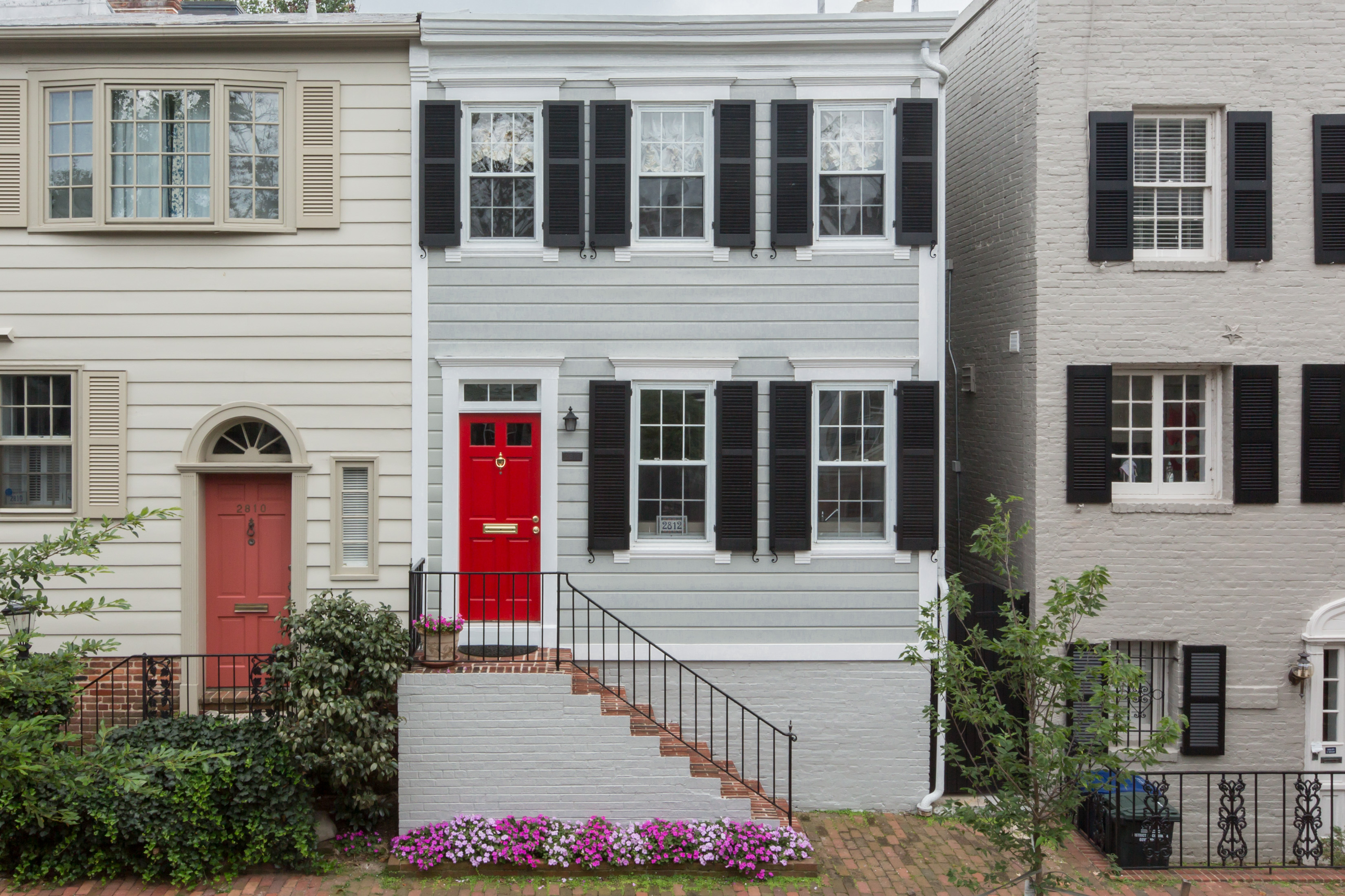 Townhouse for Sale at Georgetown 2812 Dumbarton Street Nw Washington, District Of Columbia 20007 United States