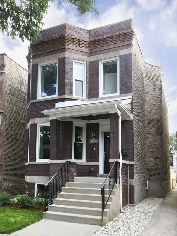 단독 가정 주택 용 매매 에 Stunning Single Family Home 3620 N Albany Avenue Irving Park, Chicago, 일리노이즈 60618 미국