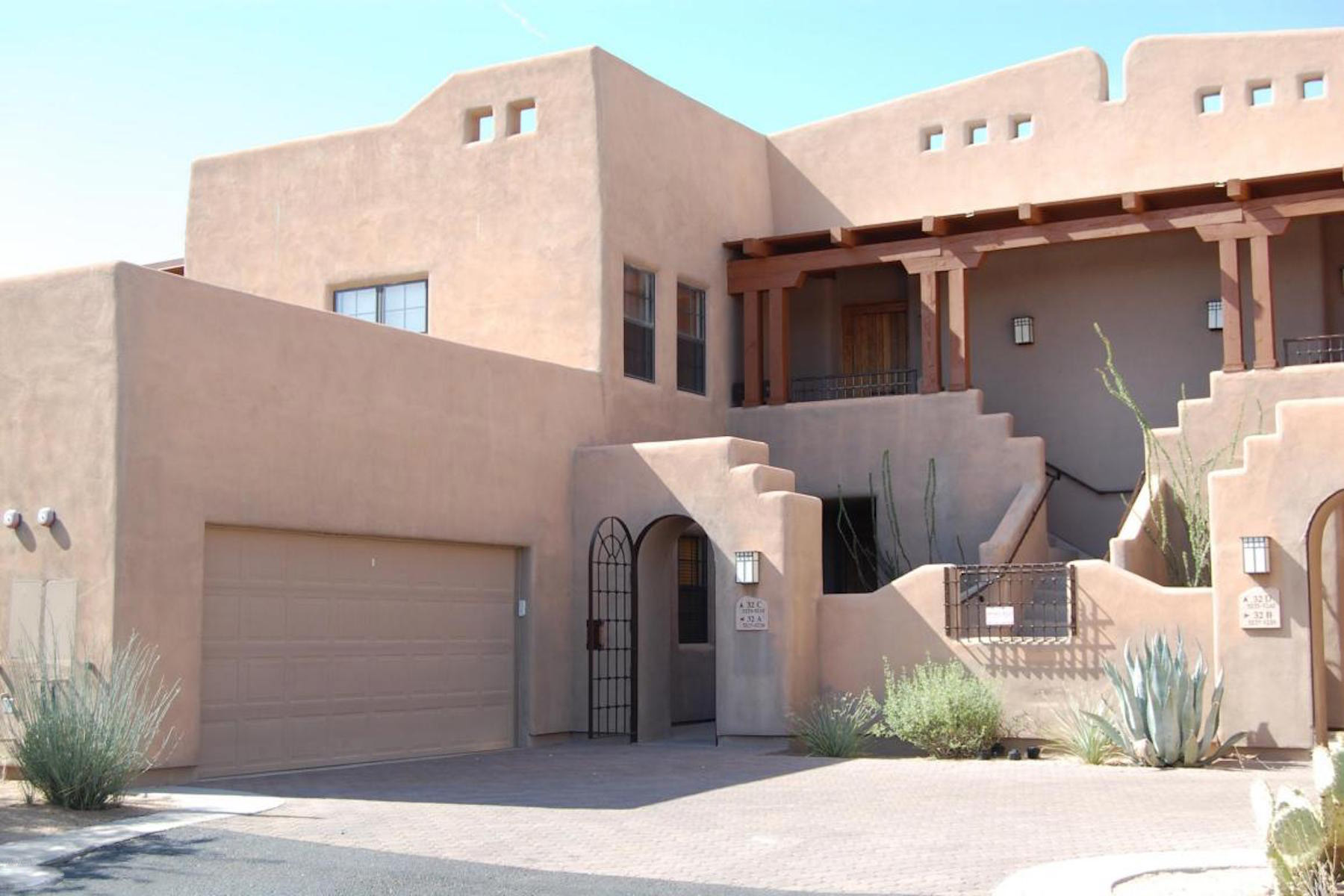 Townhouse for Sale at Fully furnished gated community with wonderful mountain views. 36601 N Mule Train Rd 26 Carefree, Arizona, 85377 United States