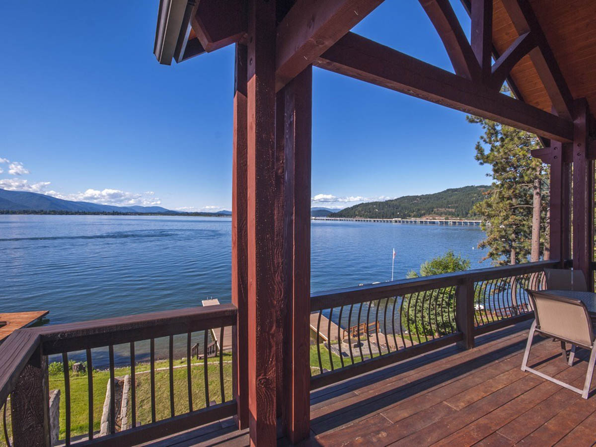 Property For Sale at Lakeshore Custom Home with Dock