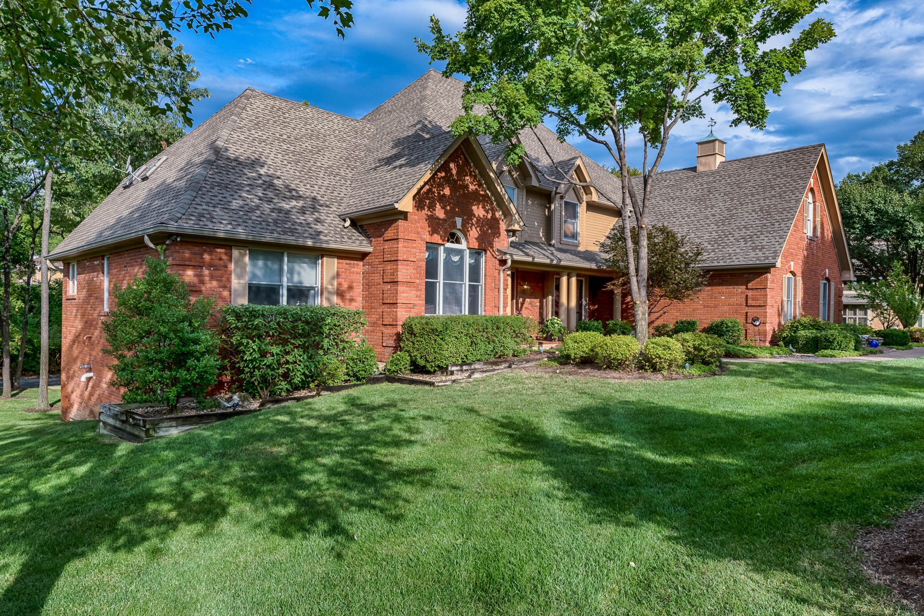 open-houses property at Exquisite Town & Country Treasure on Full Acre