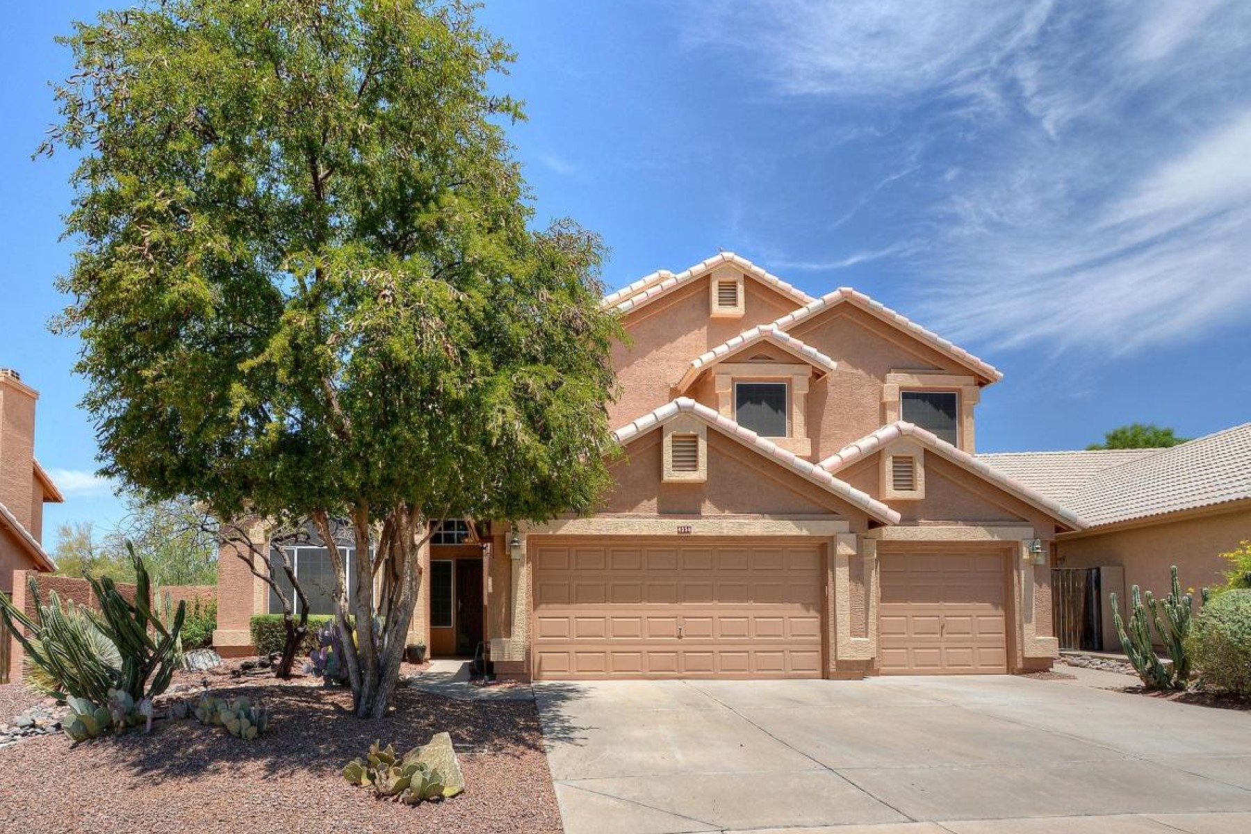 Single Family Home for Sale at Great two story home in Tatum Ranch 4356 E Rancho Tierra Dr Cave Creek, Arizona, 85331 United States