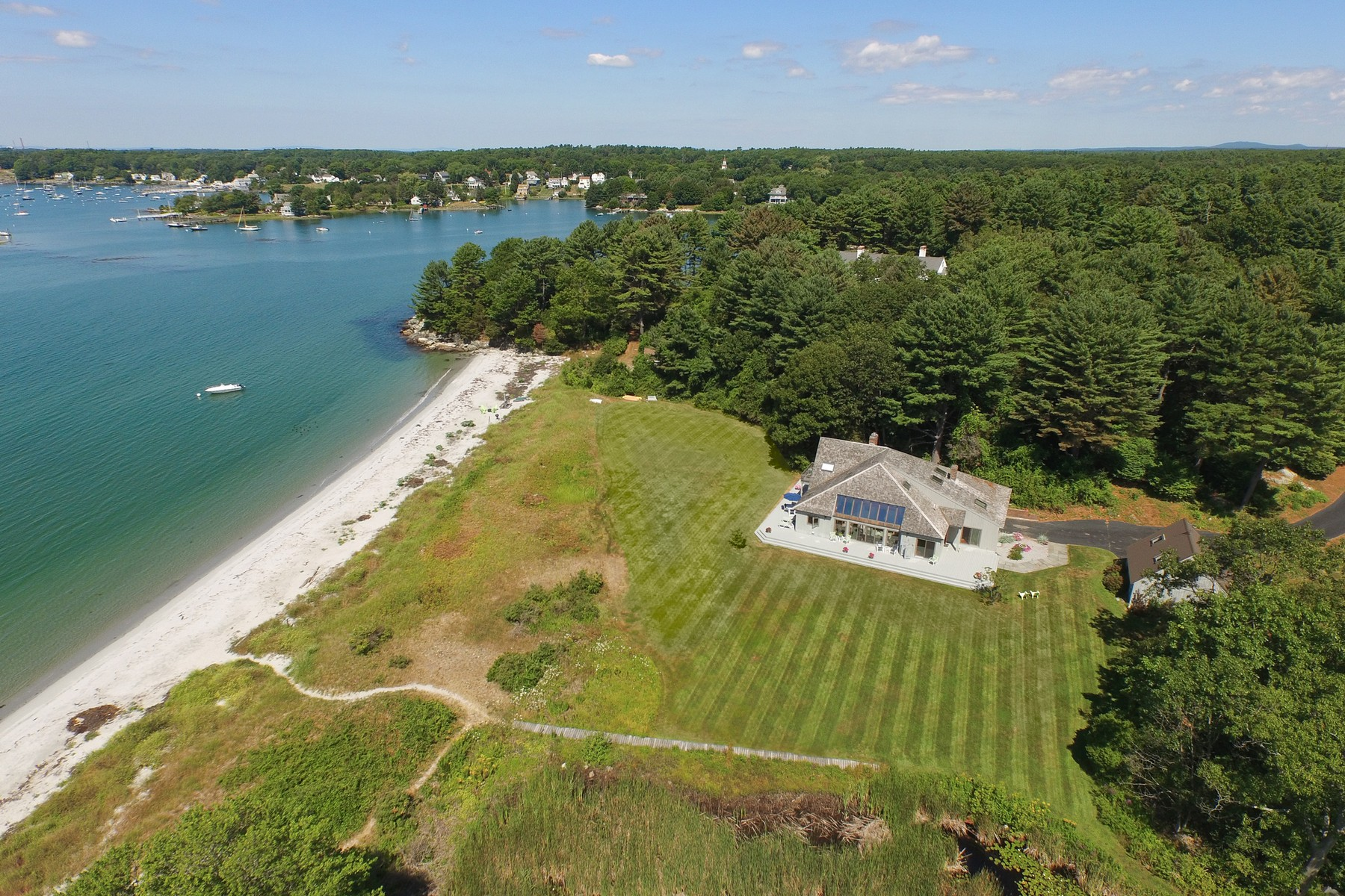 sales property at Exclusive Gerrish Island Waterfront, Panoramic Views of Portsmouth Harbor