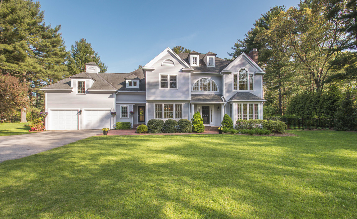 sales property at Impressive Duxbury Village Colonial