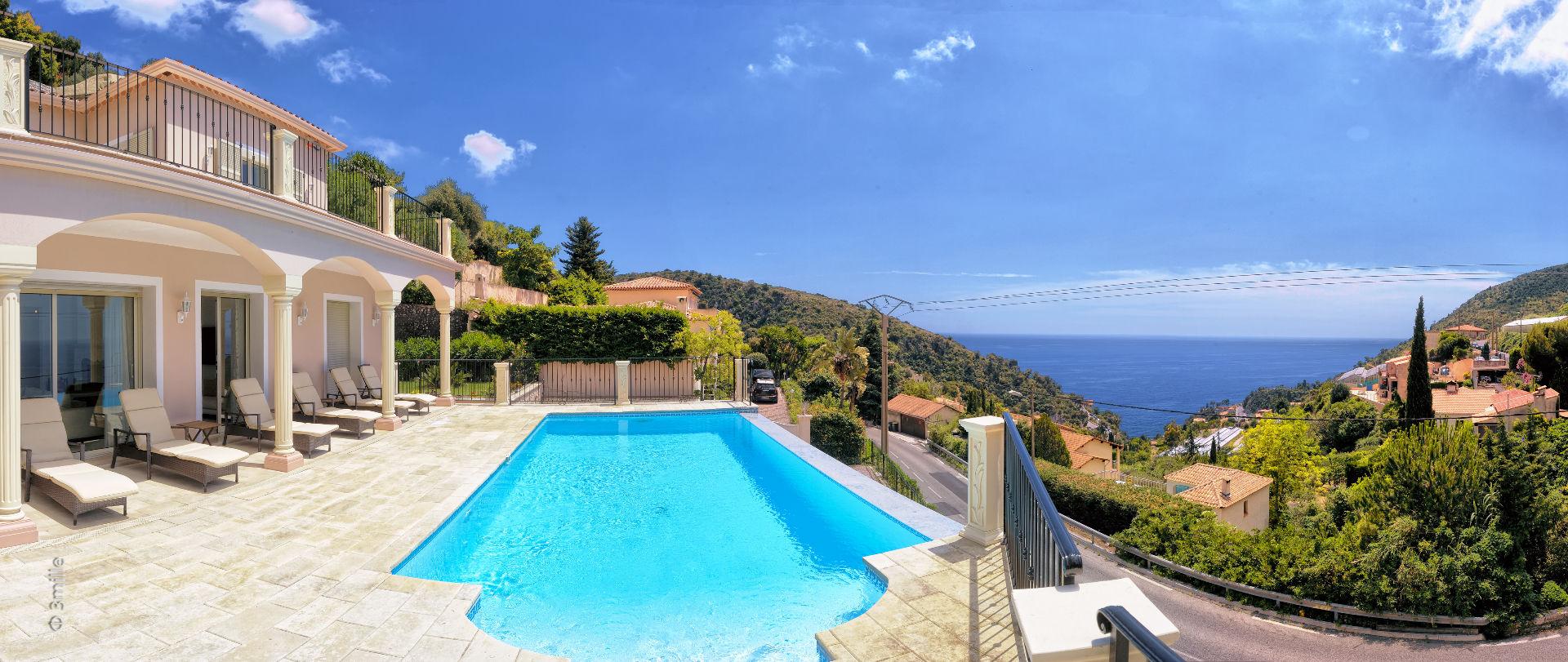 獨棟家庭住宅 為 出售 在 Provencal style villa - sea views Eze Eze, 普羅旺斯阿爾卑斯藍色海岸 06360 法國