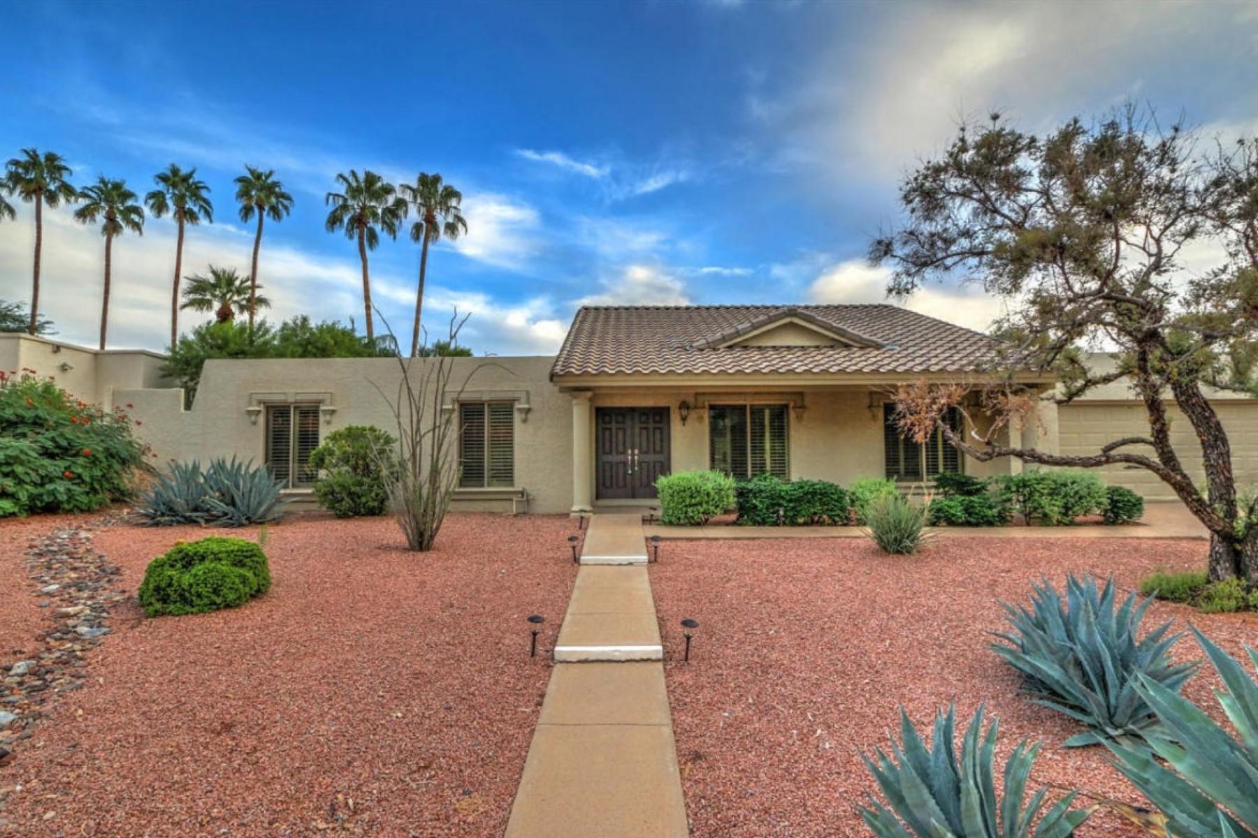 Частный односемейный дом для того Продажа на Completely Remodeled Home In Quiet Neighborhood With Mountain Views 2011 E Orangewood Ave Phoenix, Аризона 85020 Соединенные Штаты