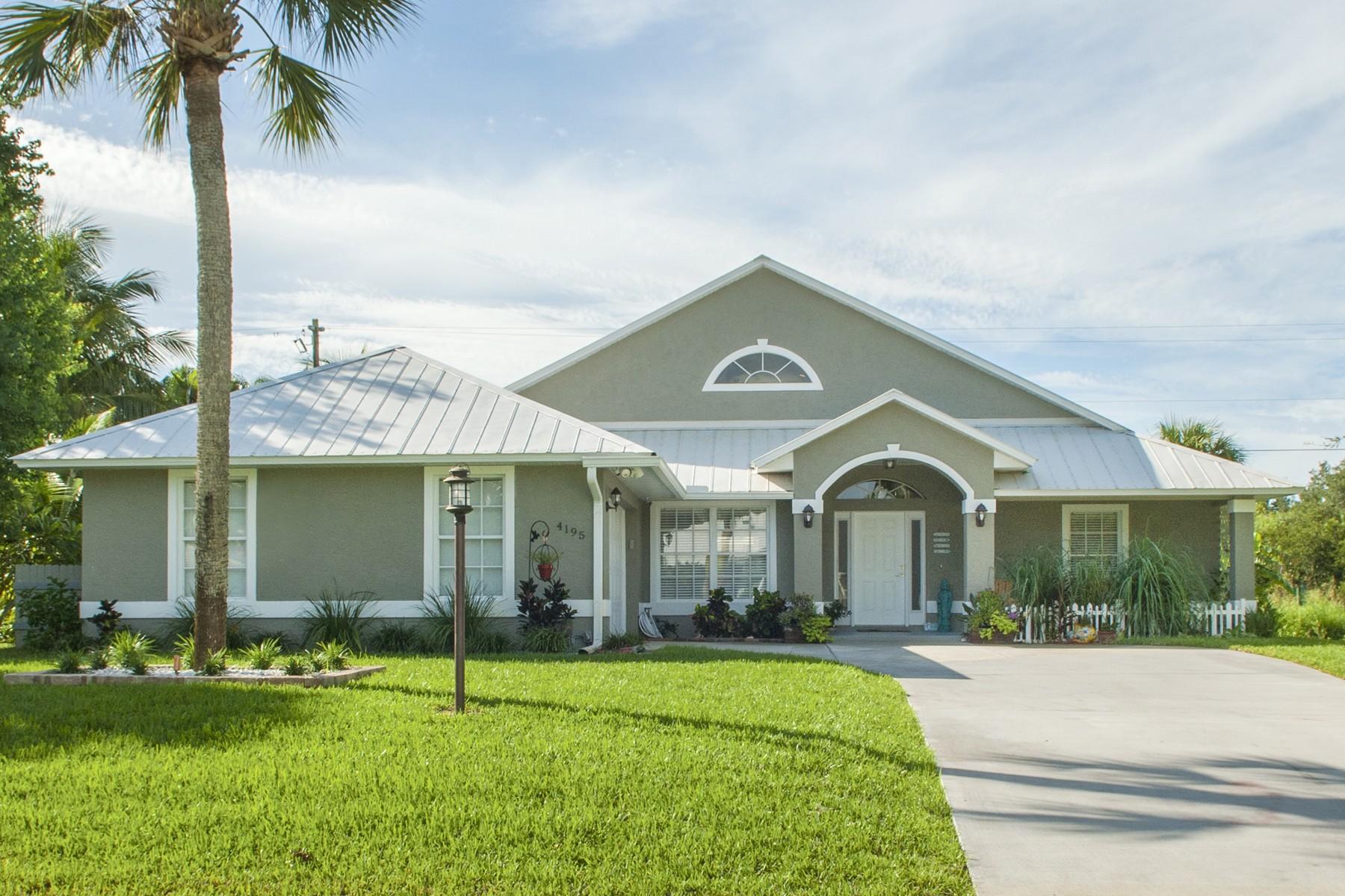 Single Family Home for Sale at Elegant Designer Showplace! 4195 79th Street Vero Beach, Florida, 32967 United States