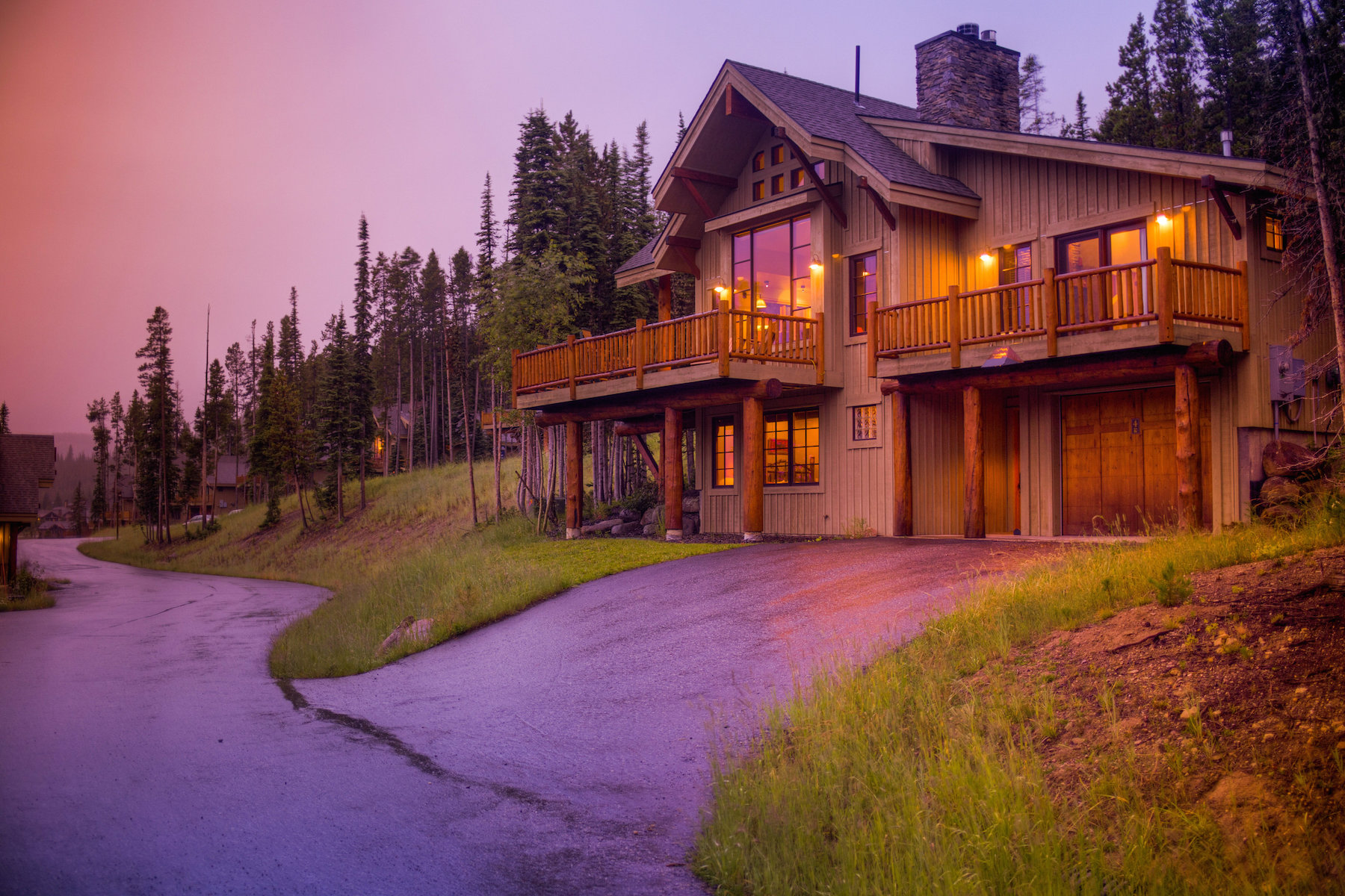 Maison unifamiliale pour l Vente à Ski-in, Ski-out Moonlight Mountain Home 4 Shadow Ridge Trail, Mountain Home 36 Big Sky, Montana 59716 États-Unis
