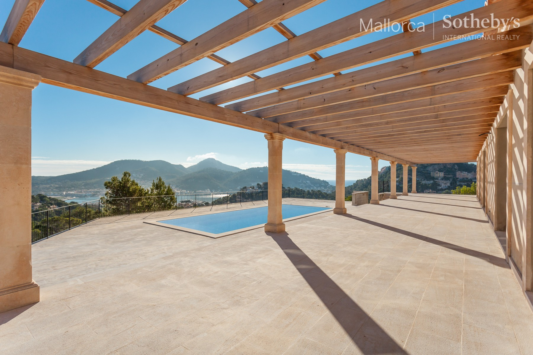 Single Family Home for Sale at Villa with panoramic views of Port Andratx Port Andratx, Mallorca 07157 Spain
