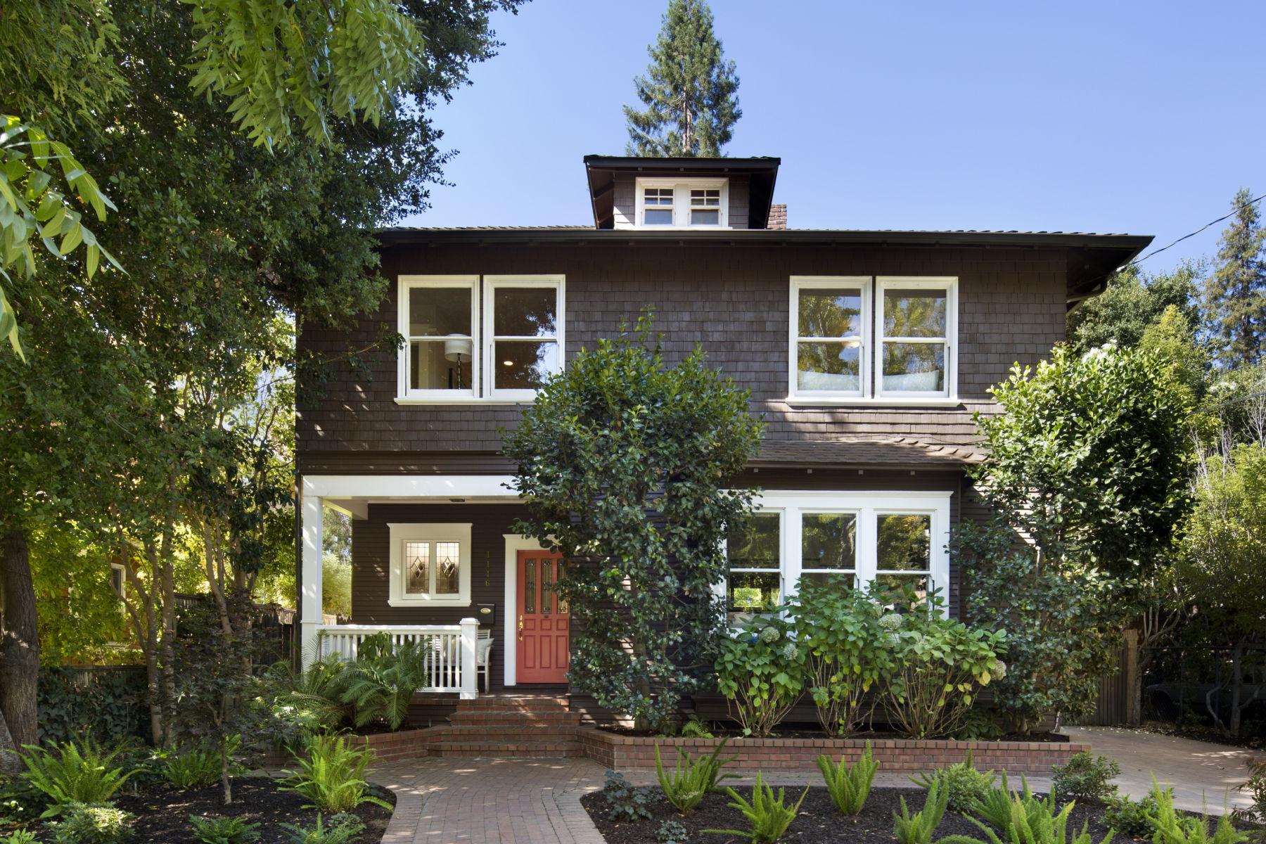 Single Family Home for Sale at Professorville 1116 Ramona Street Professorville, Palo Alto, California 94301 United States