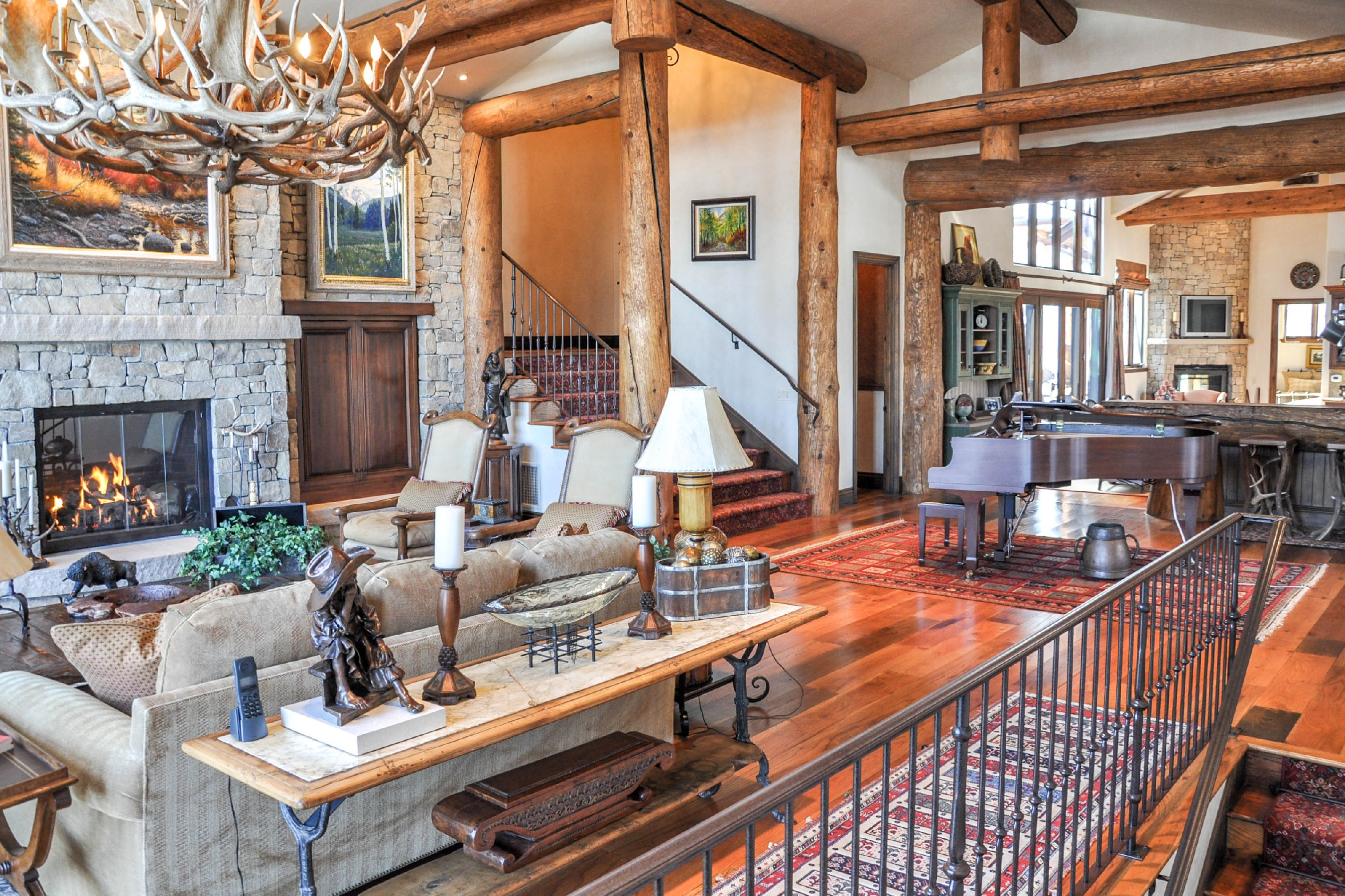 Maison unifamiliale pour l Vente à Two Creeks Estate in Snowmass Village Snowmass Village, Colorado, 81615 États-Unis