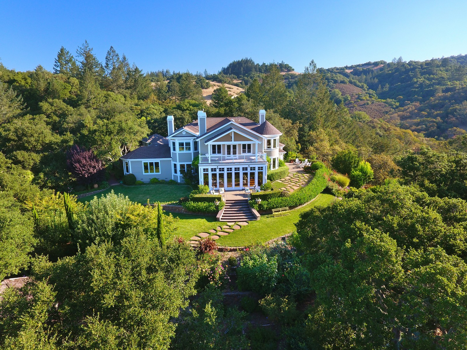 Casa Unifamiliar por un Venta en Redwood Hills Ranch Estate 1920 Redwood Hill Santa Rosa, California, 95404 Estados Unidos