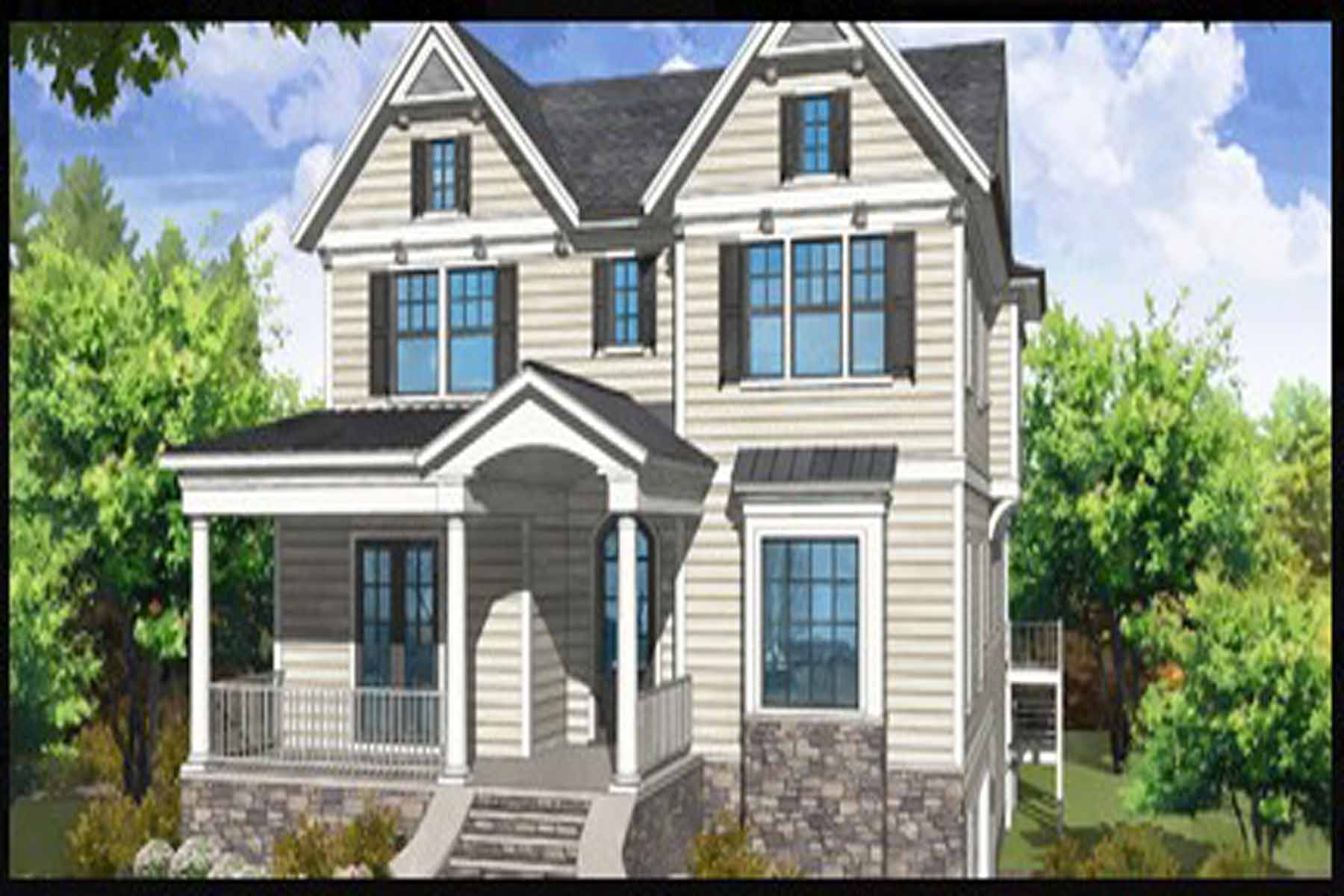 Moradia para Venda às New construction by JackBilt Homes. 870 Wildwood Road NE Morningside, Atlanta, Geórgia, 30324 Estados Unidos