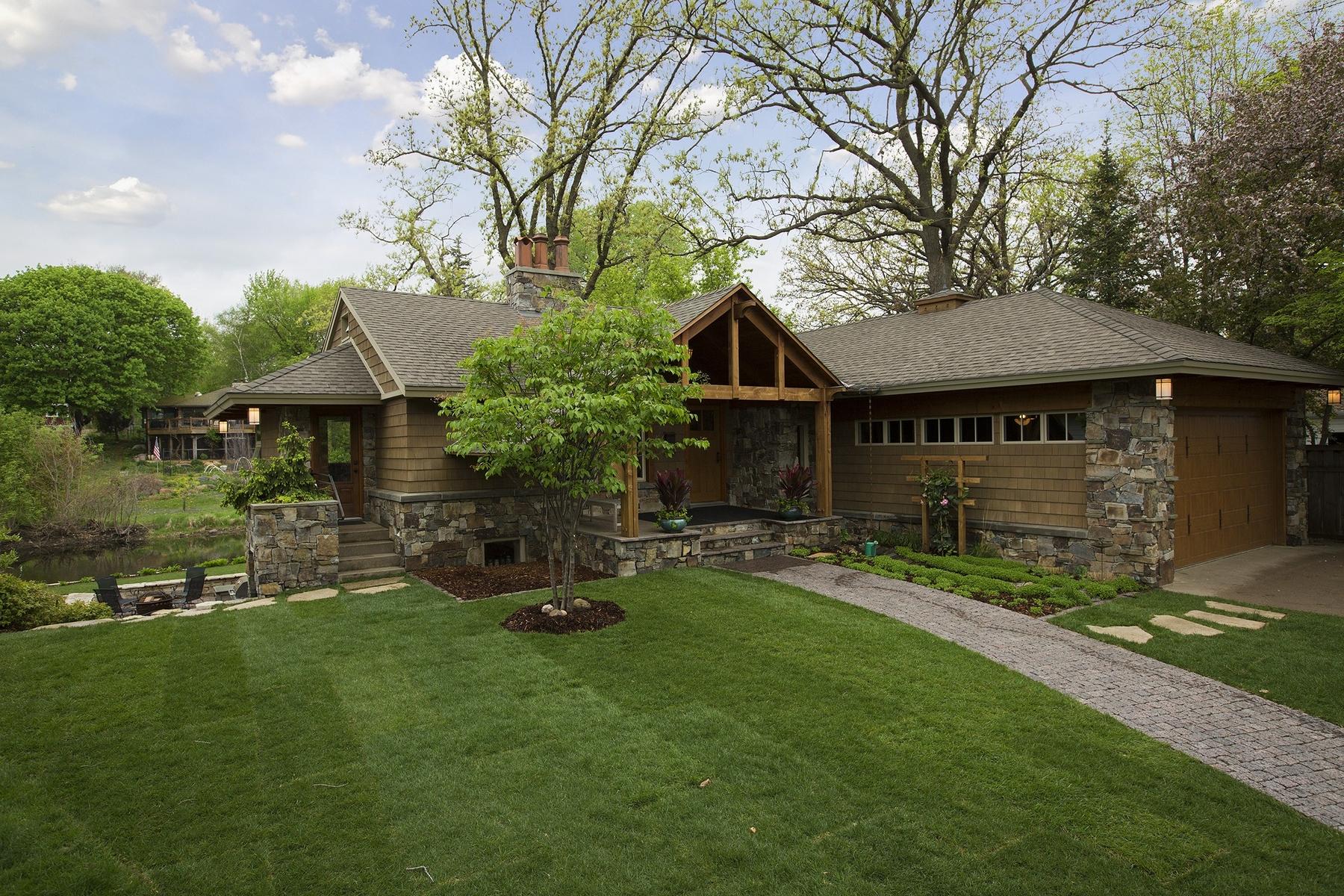 Single Family Home for Sale at 4610 Cascade Lane Edina, Minnesota 55436 United States
