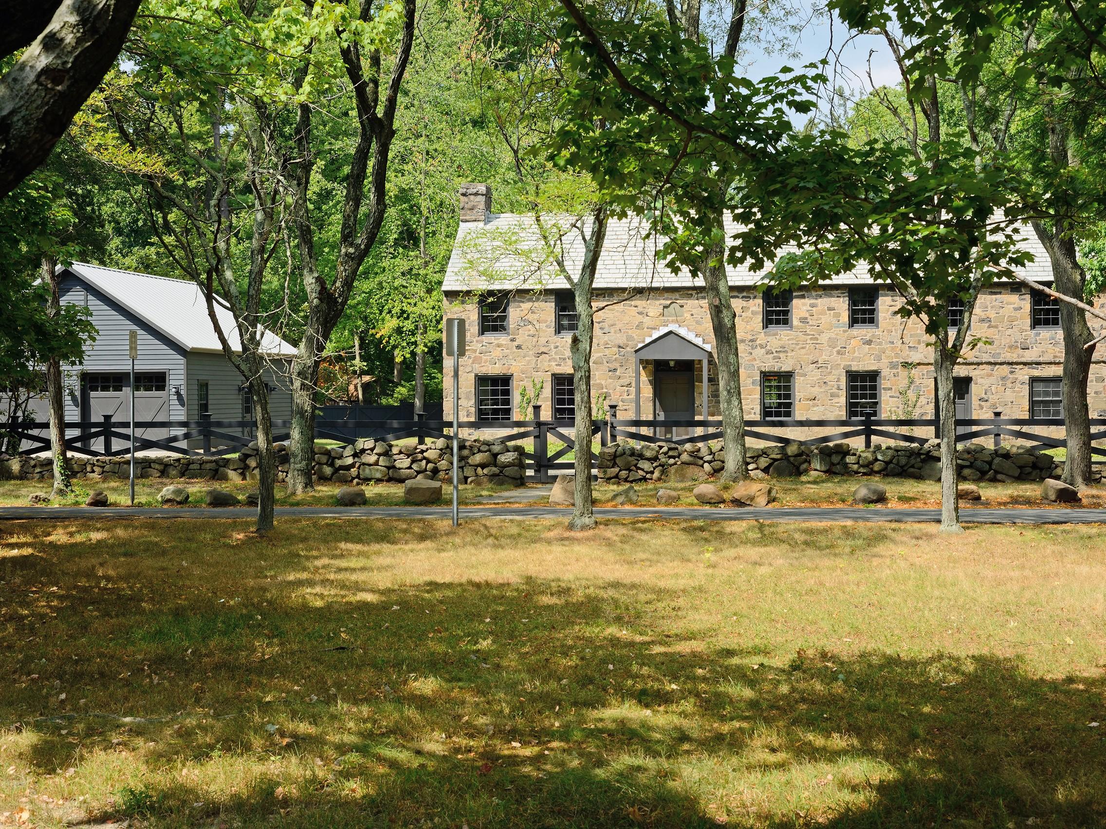 Maison unifamiliale pour l Vente à The Speer House 4 Woods Rd. Snedens Landing, Palisades, New York 10964 États-Unis