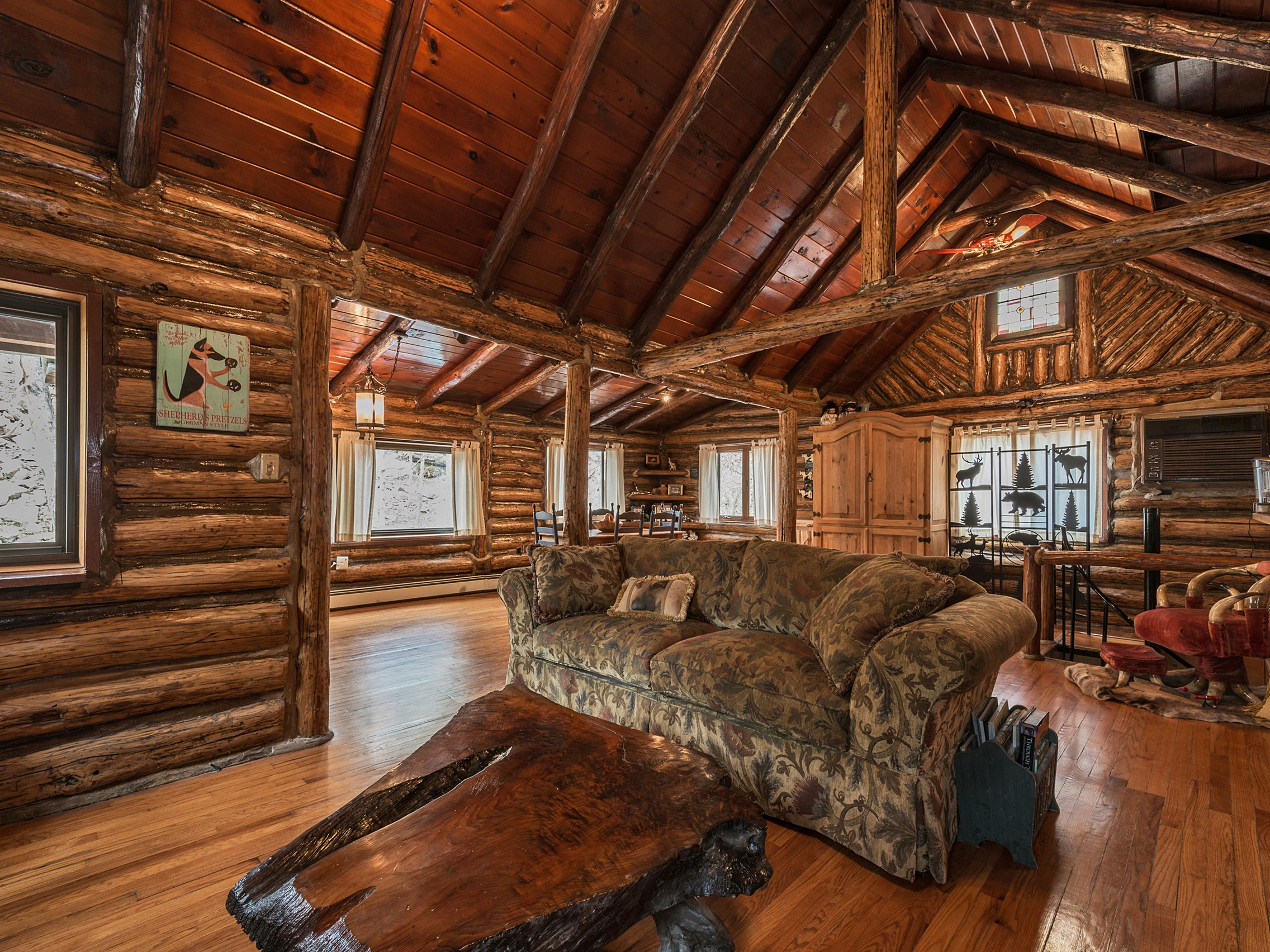 Single Family Home for Sale at Forest Knolls Log Cabin 342 East Shore Road Warwick, New York 10925 United States
