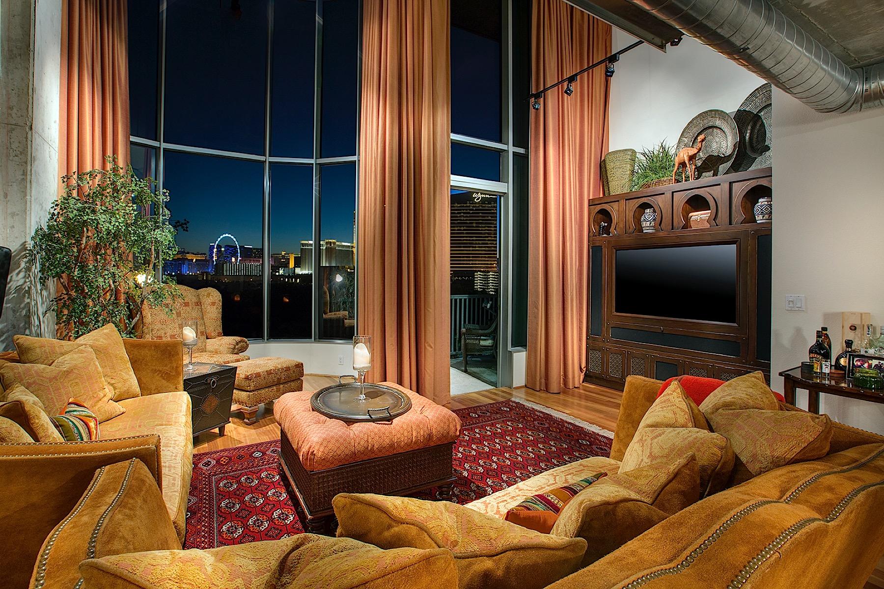 Nhà ở một gia đình vì Bán tại The Metropolitan Loft at Metropolis 360 E Desert Inn Road #1002 Las Vegas, Nevada 89109 Hoa Kỳ