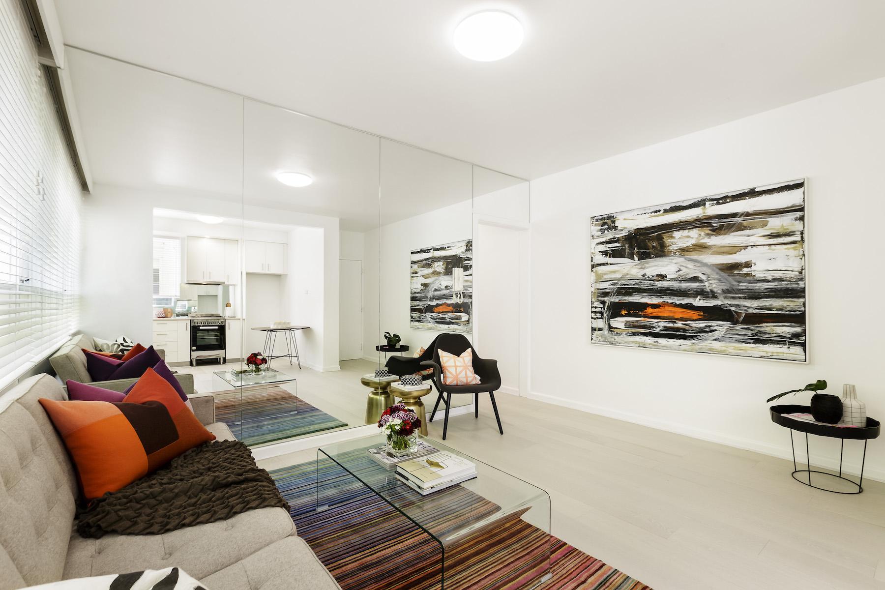 Appartement pour l Vente à 2 at 276A Domain Road, South Yarra Melbourne, Victoria, 3141 Australie