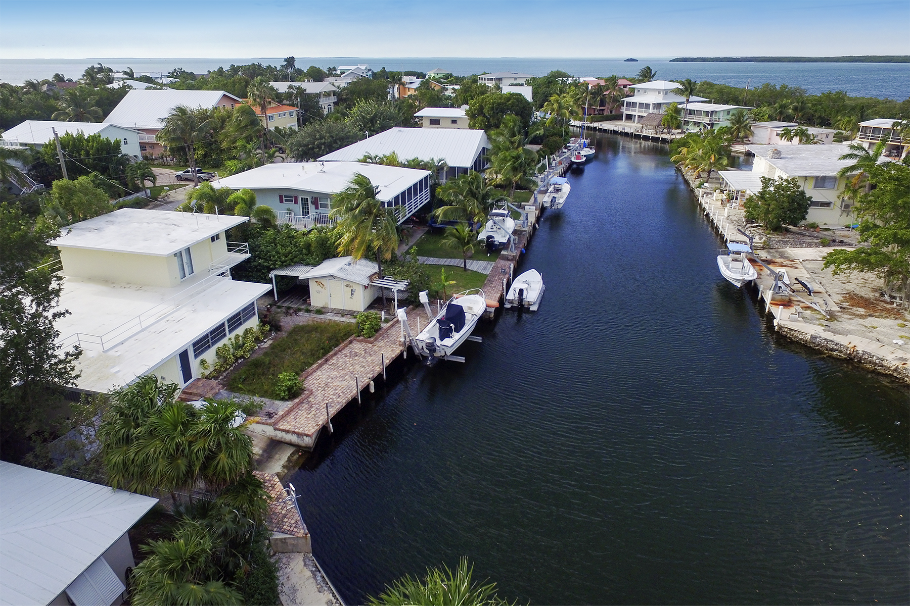 Property For Sale at Remodeled Canal Front Home
