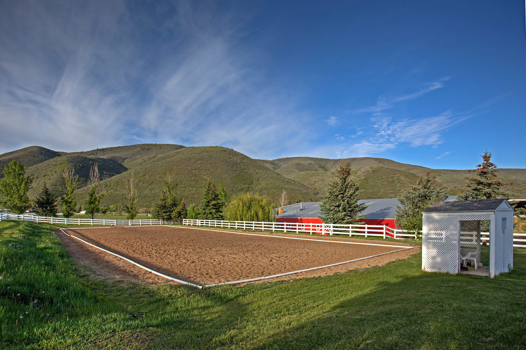 Ferme / Ranch / Plantation pour l Vente à 19 Acre Horse Training Facility 4033 S Highway 40 Heber City, Utah, 84032 États-Unis